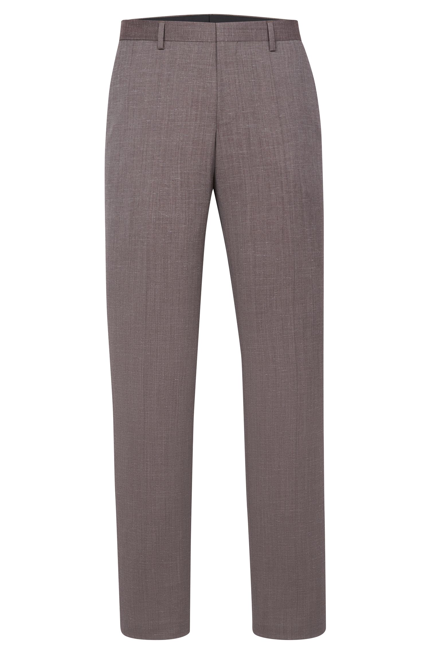 'Benso' | Slim Fit, Super 100 Virgin Wool Dress Pants