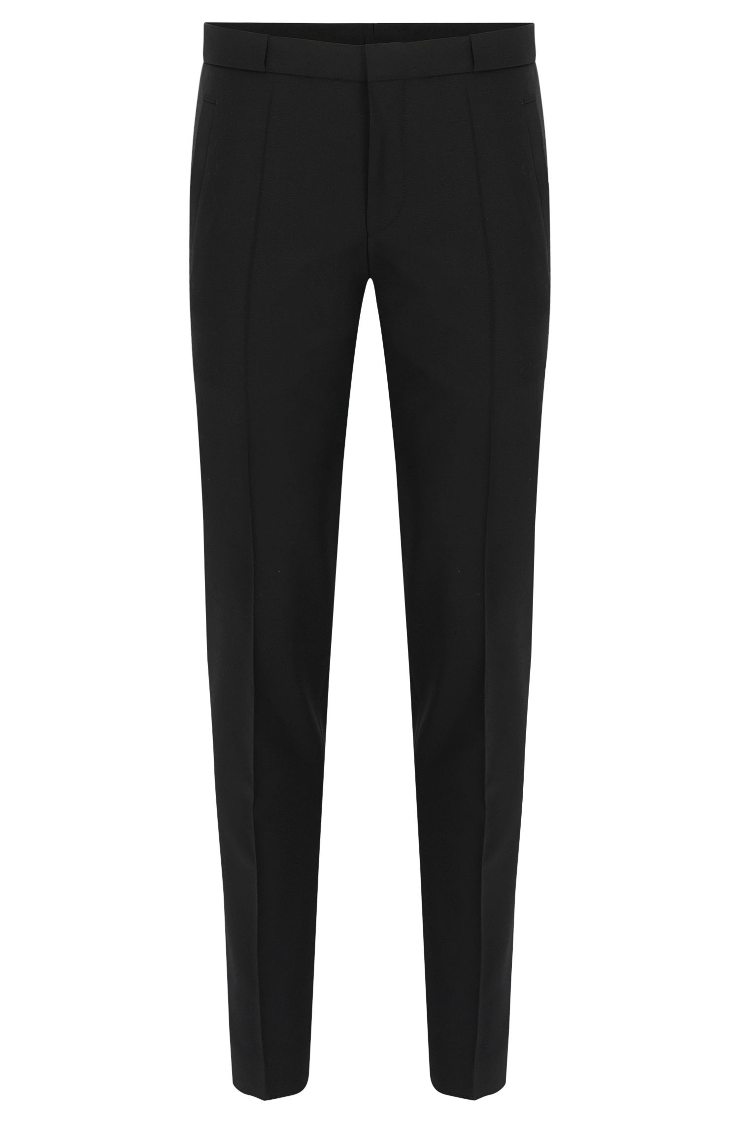 'Braydon' | Slim Fit, Virgin Wool Mohair Dress Pants