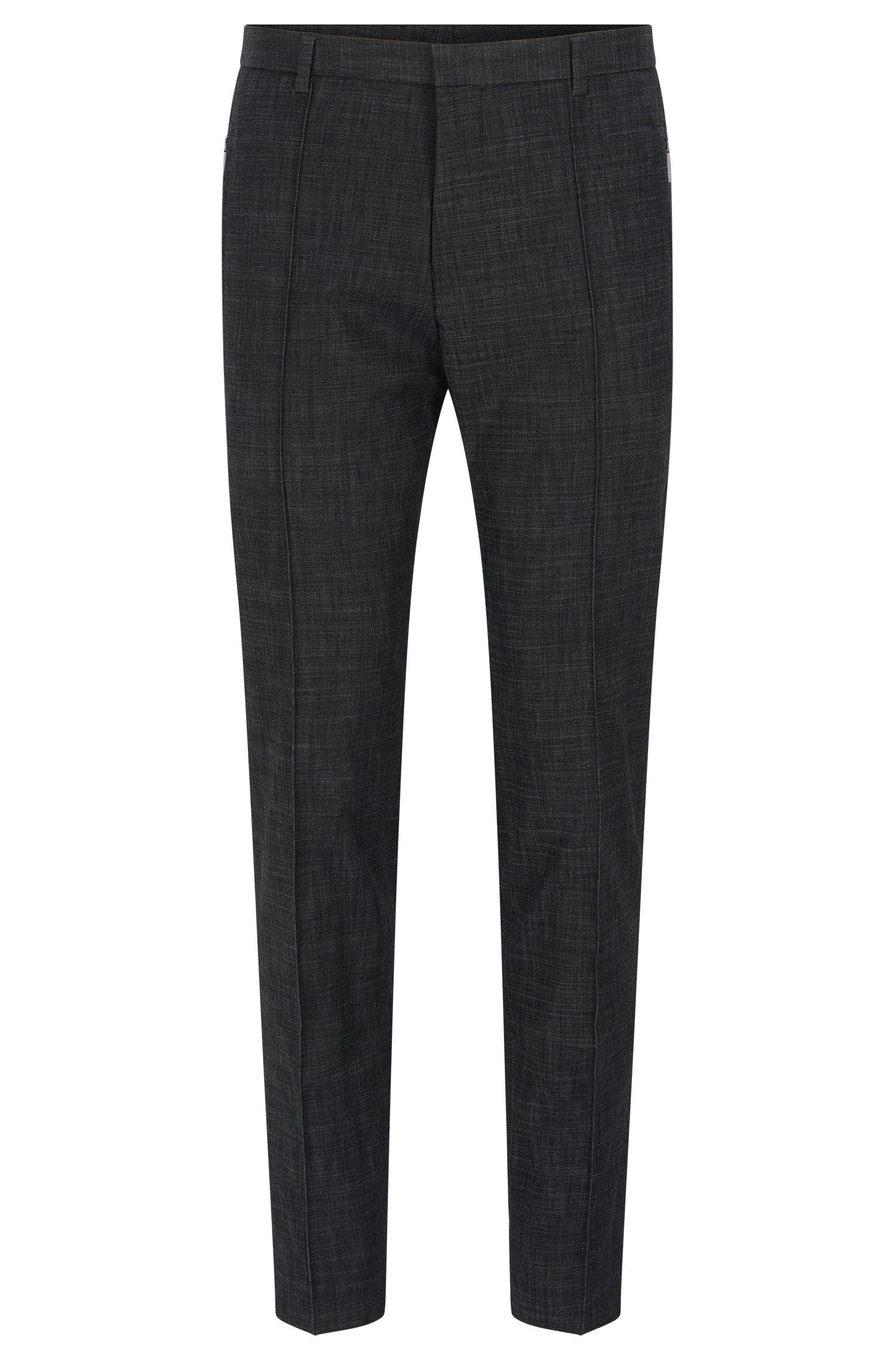 'Whitmore' | Extra Slim Fit, Cotton Blend Melange Dress Pants