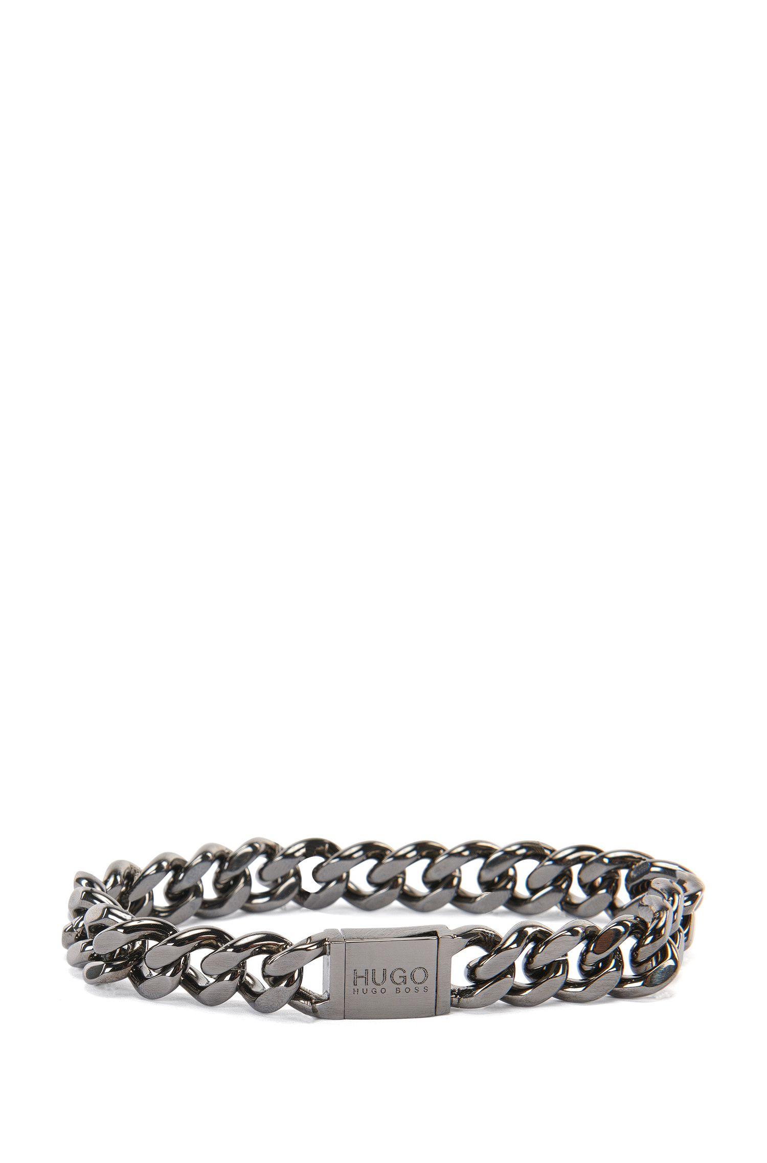 'E-Hugochain' | Silver-Plated Brass Bracelet