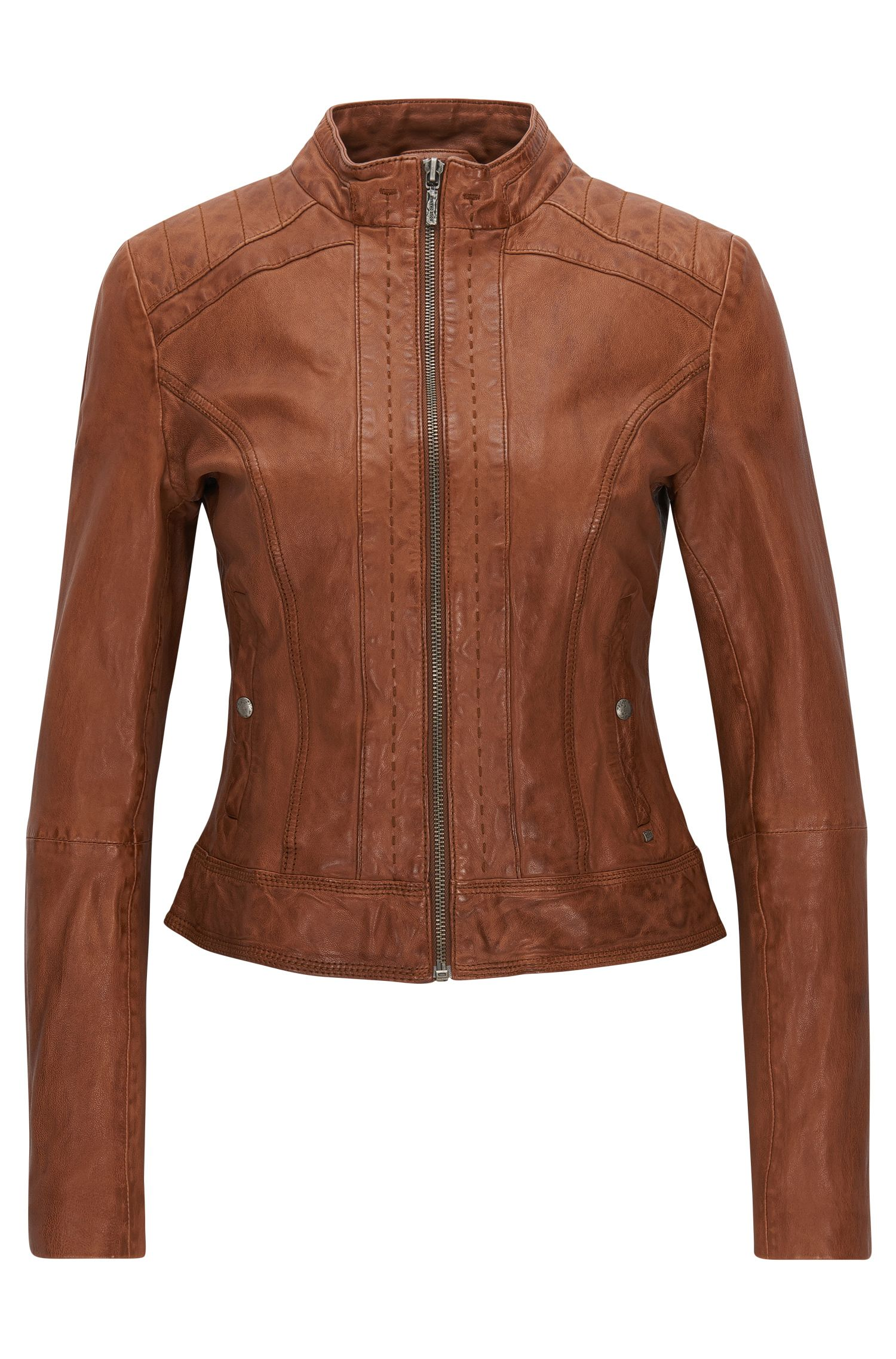 Sheepskin Leather Jacket | Janabelle