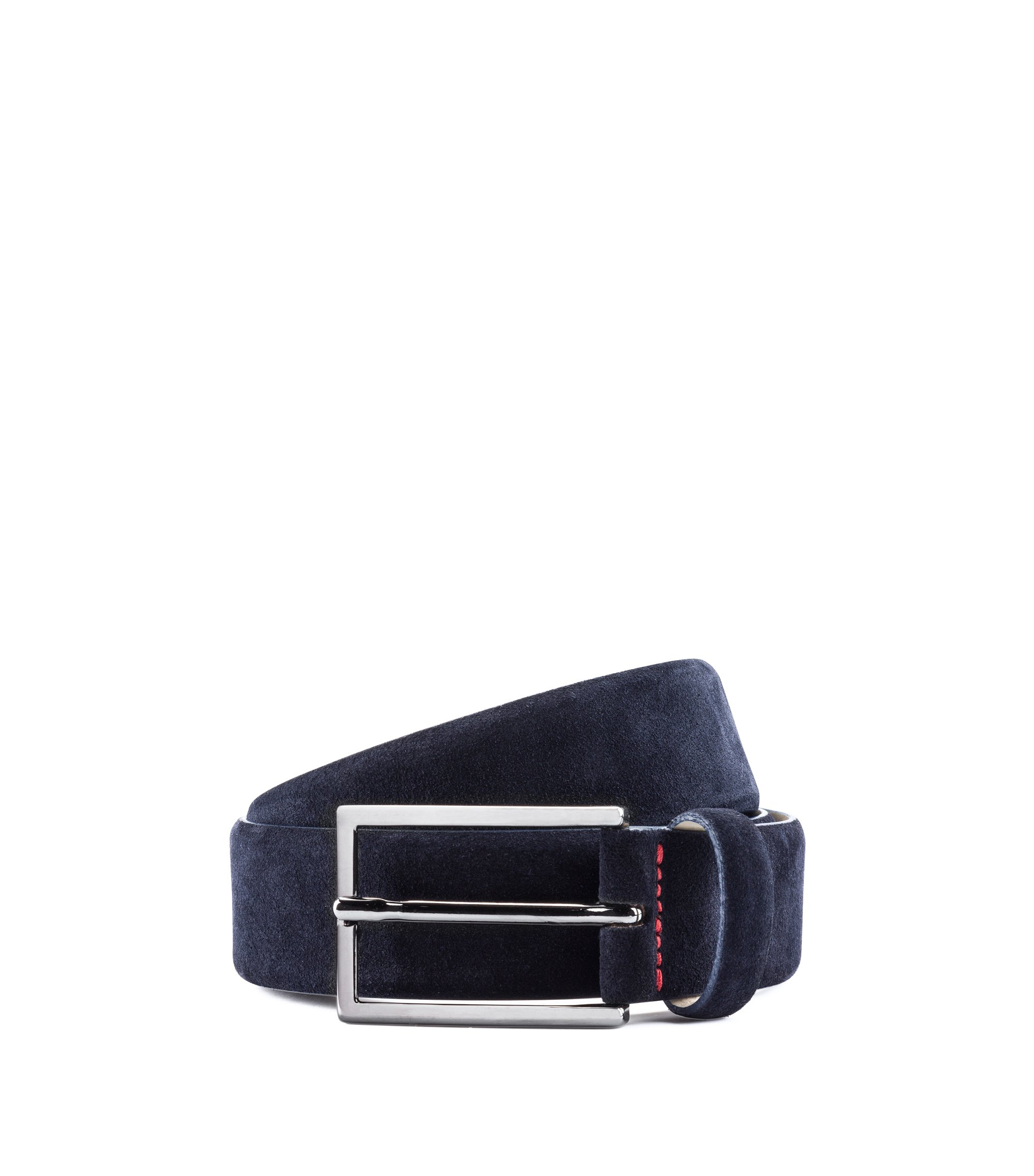 Suede Belt | Gavrilo SL, Dark Blue