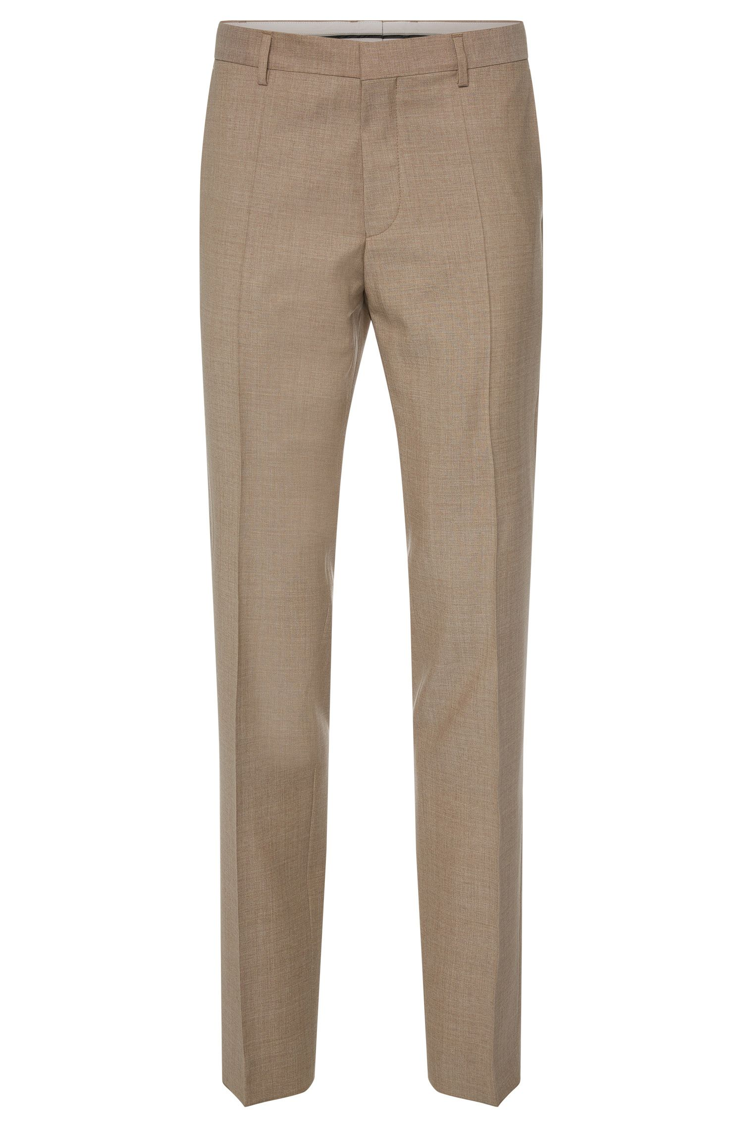 'Genesis' | Slim Fit, Italian Super 110 Virgin Wool Dress Pants