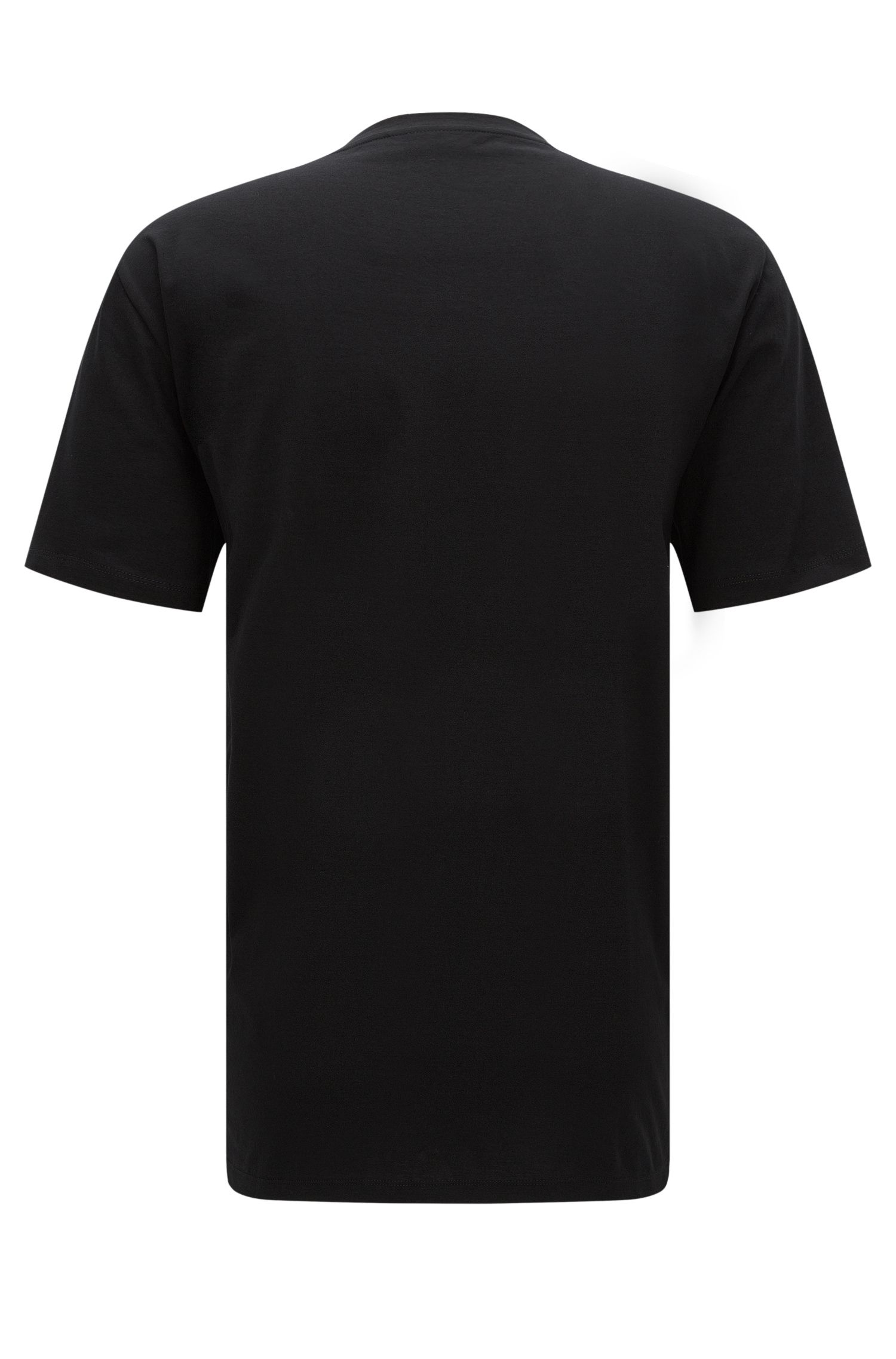 Cotton Logo T-Shirt | Durned, Black