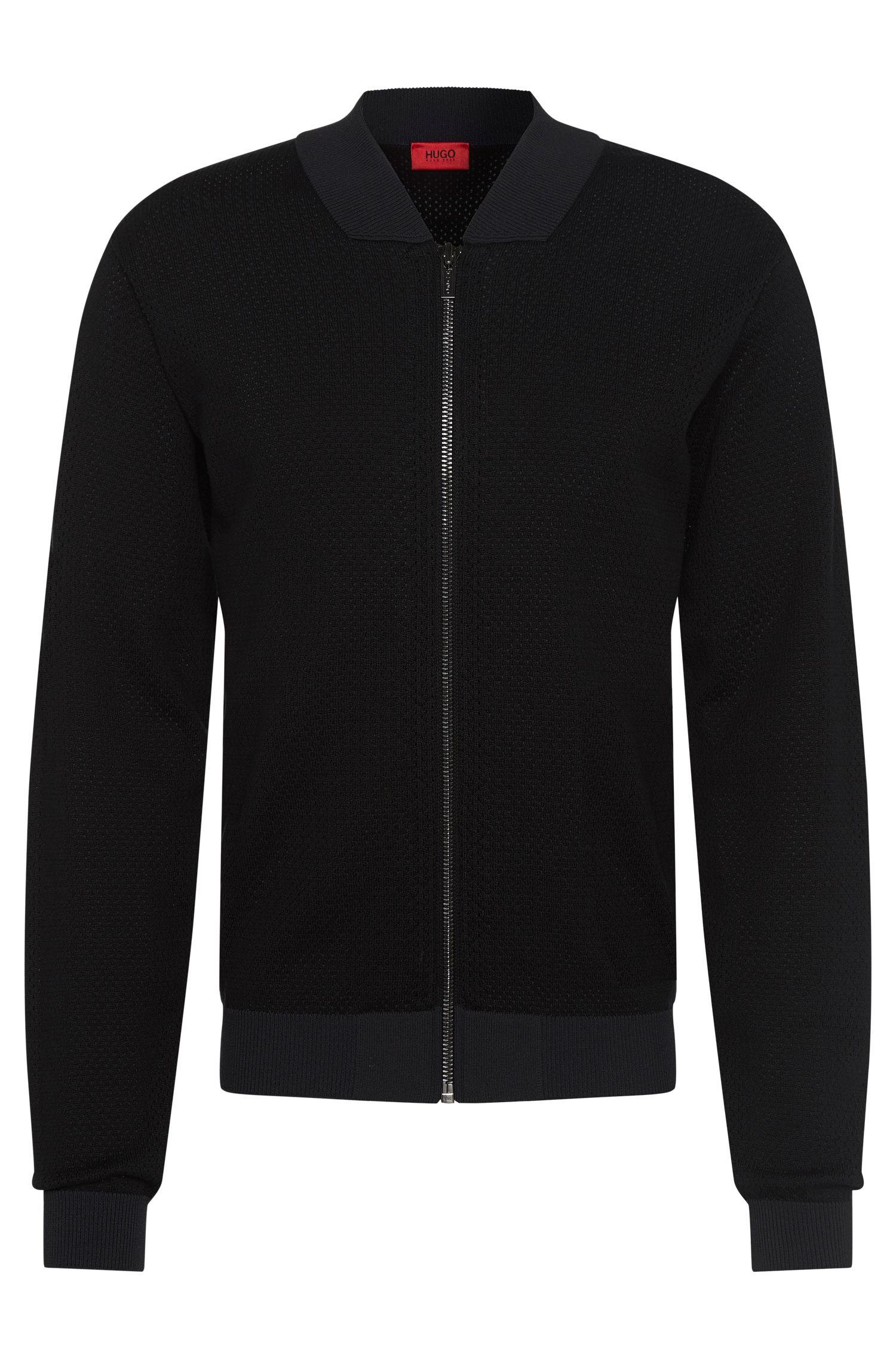'Slop'   Cotton Blend Mesh Jacket