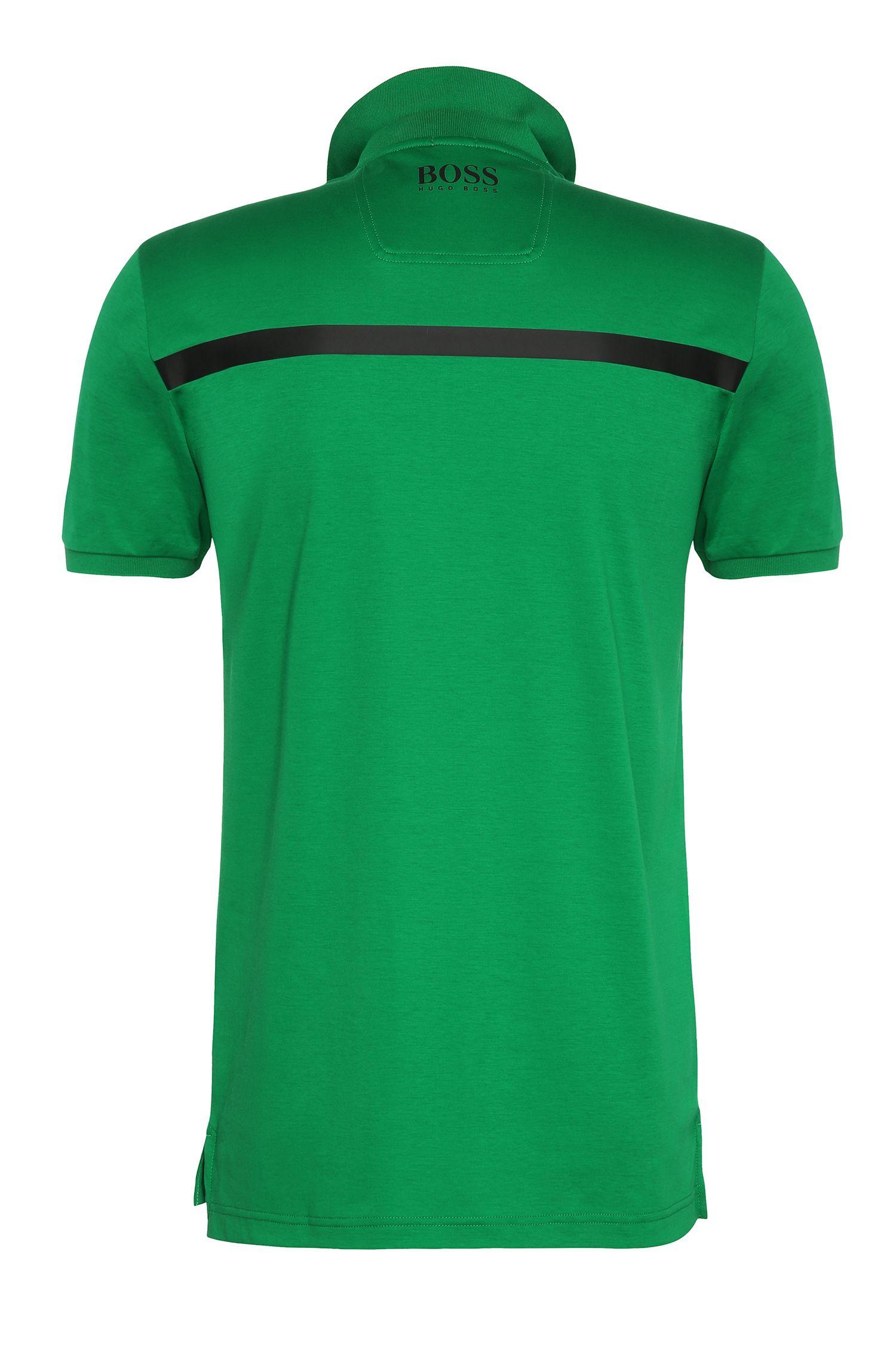 Moisture Manager Cotton Polo Shirt, Slim Fit | Paule Pro, Open Green