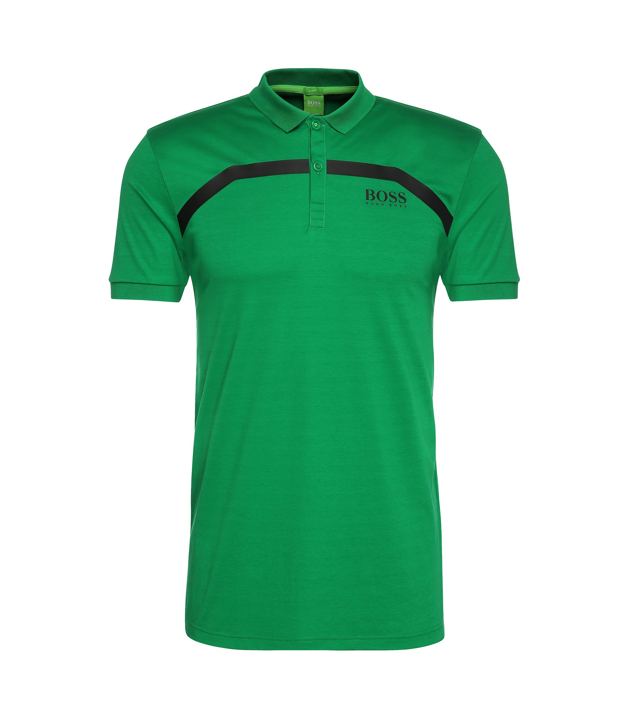 Moisture Manager Cotton Polo Shirt, Slim Fit | Paule Pro, Open Green