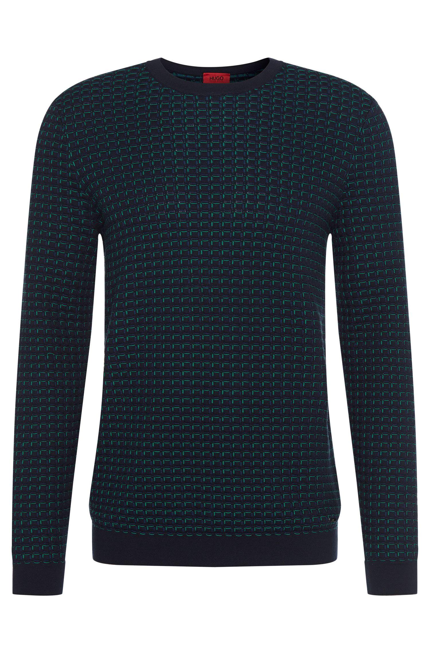 'Srid' | Cotton Patterned Sweater