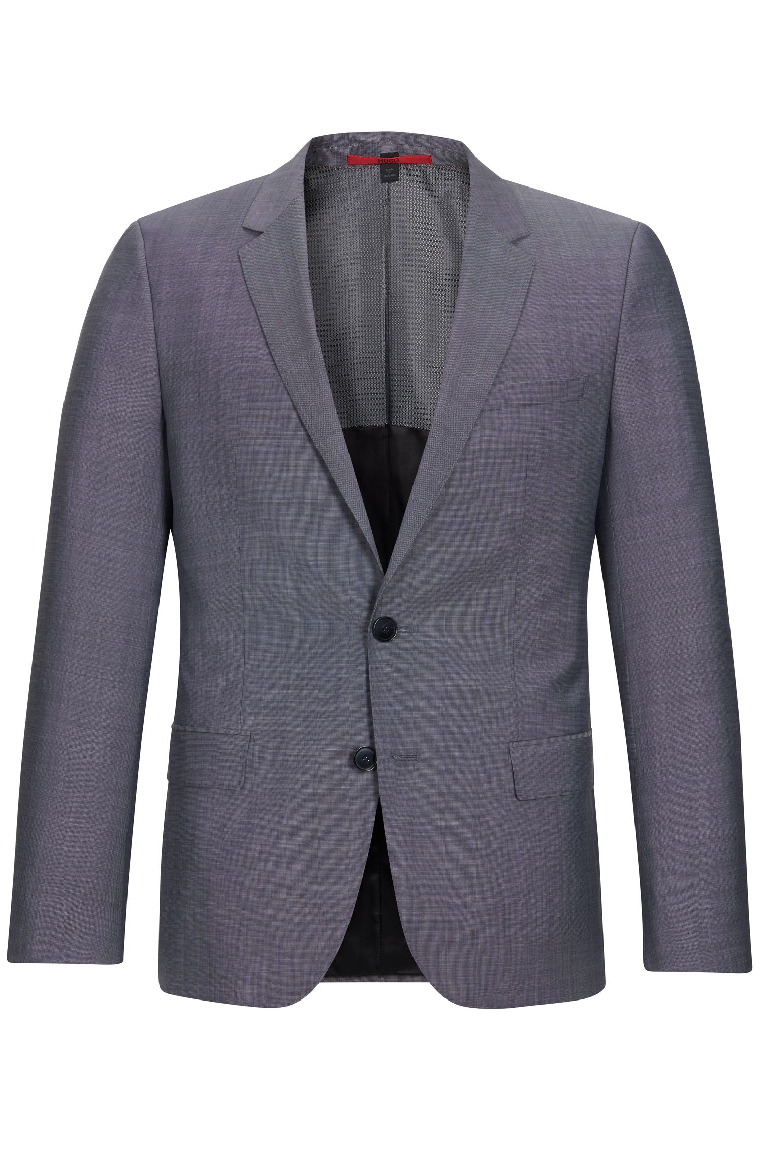 Italian Super 100 Virgin Wool Sport Coat, Slim Fit | C-Huge