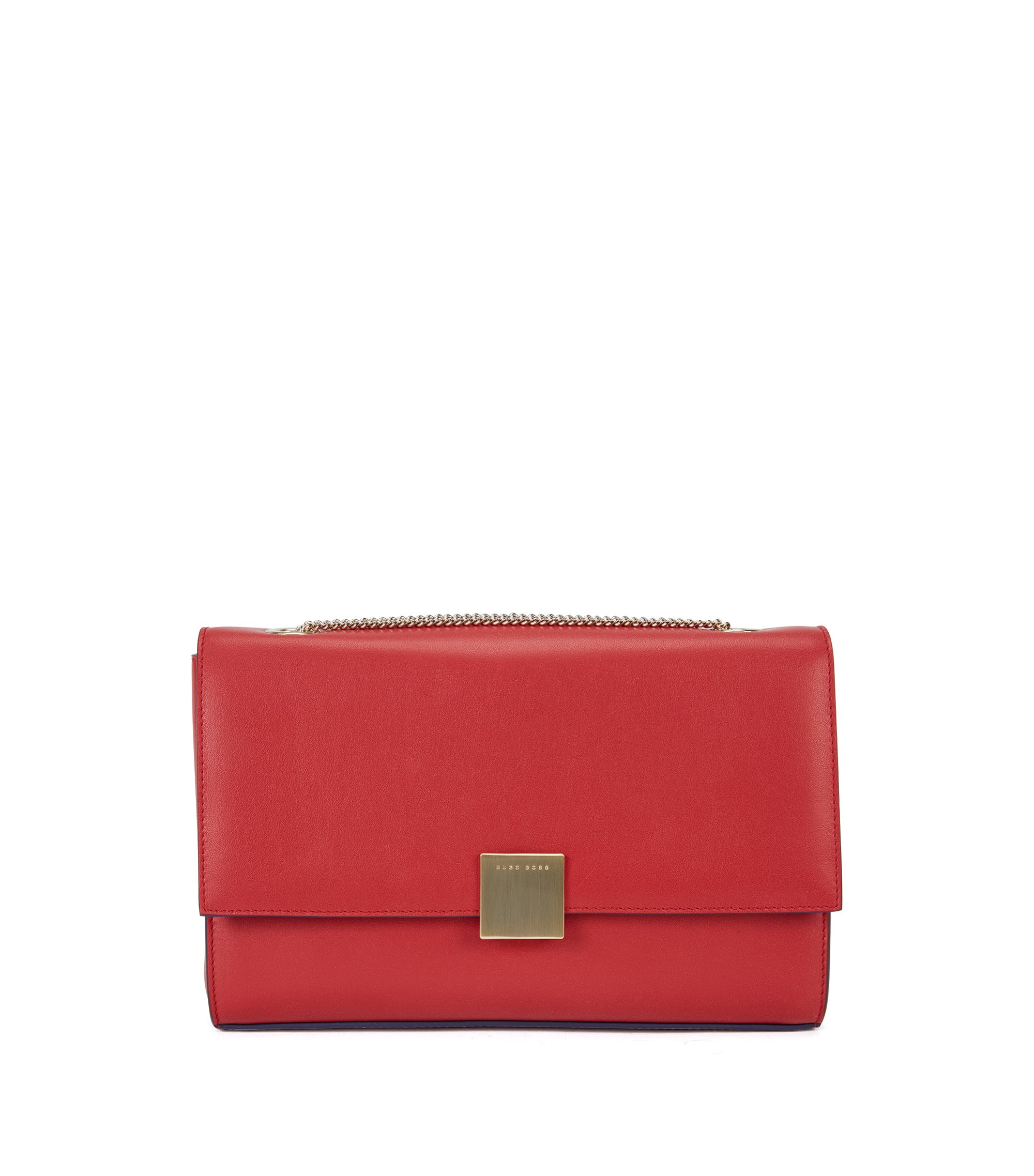 Italian Calfskin Handbag | Munich Flap N, Red