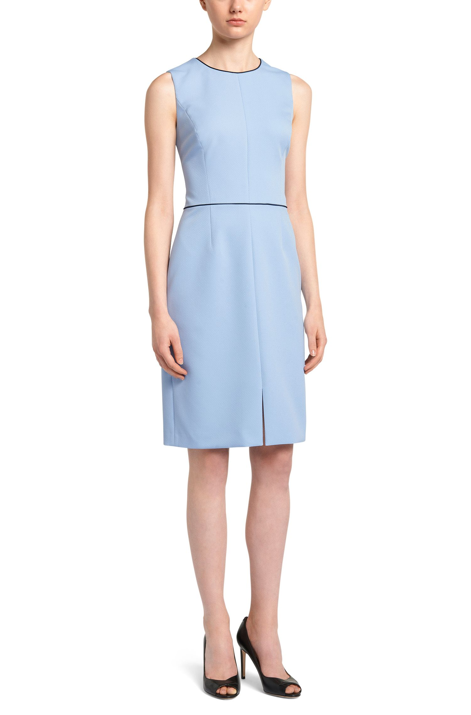 Textured Sheath Dress | Klenni