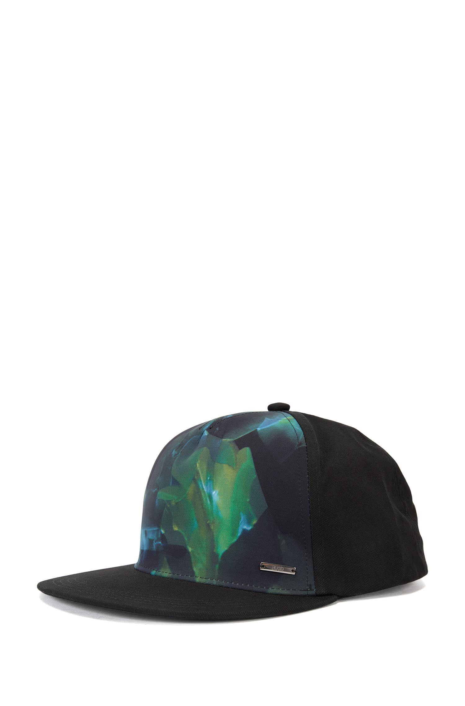 'Men X'   Patterned Baseball Cap