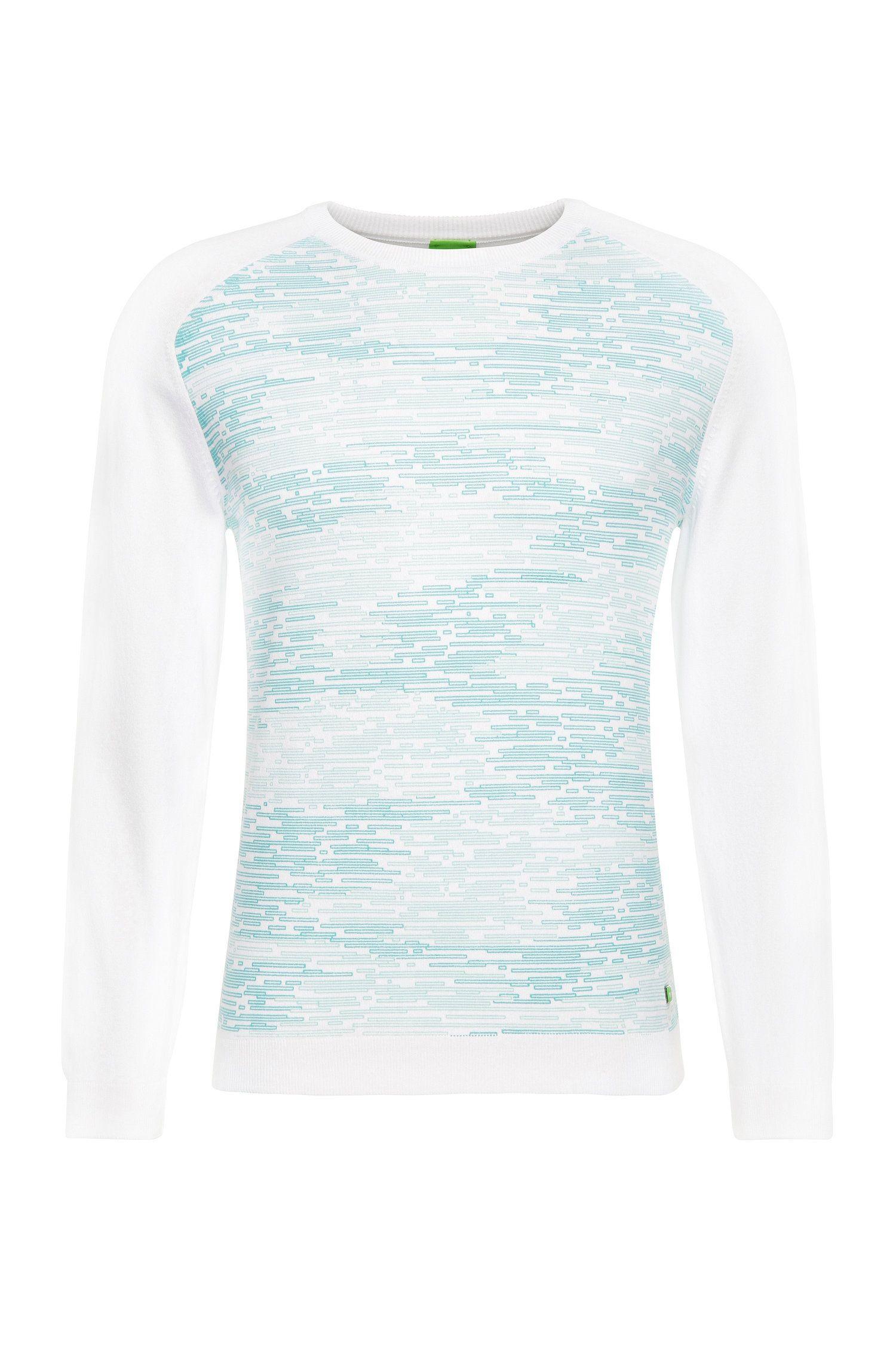 'Rager' | Stretch Cotton Blend Printed Sweatshirt