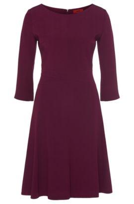 Crepe A-Line Dress | Kusima, Purple