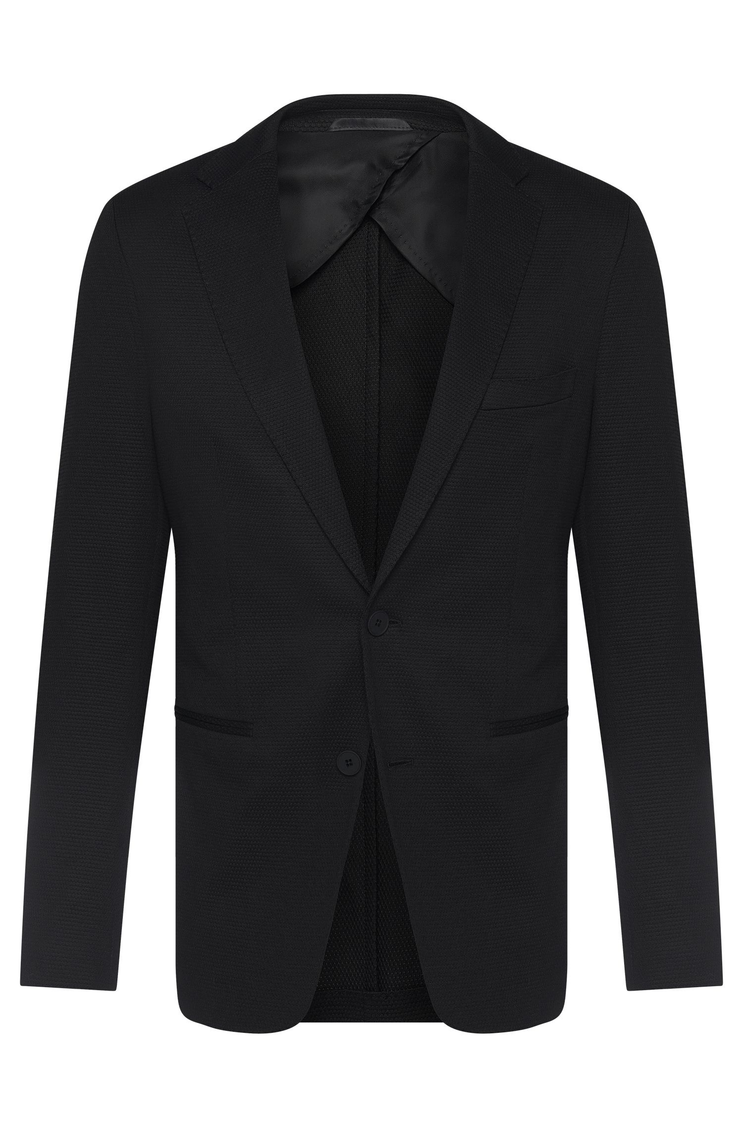 'Norwin' | Slim Fit, Cotton Blend Birdseye Sport Coat