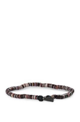 'Mishell' | Shell Bracelet, Brown