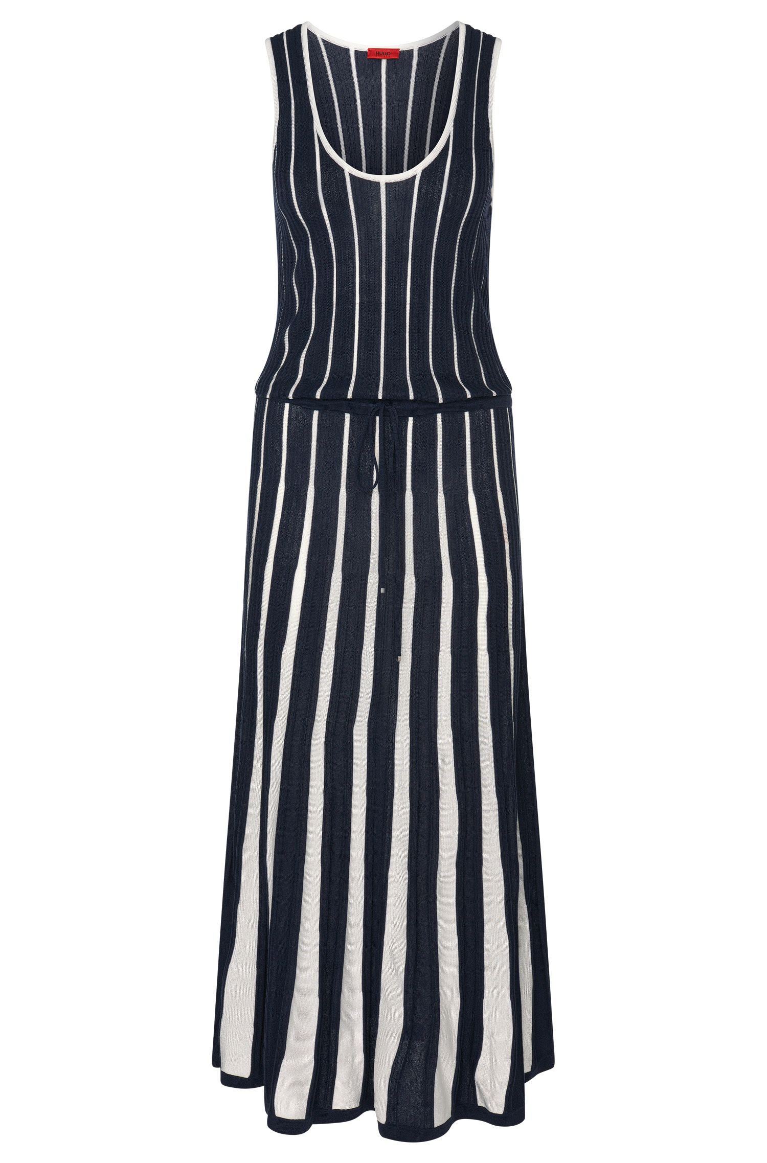 Silk Cotton Cashmere Blend Knit Dress   Stephora