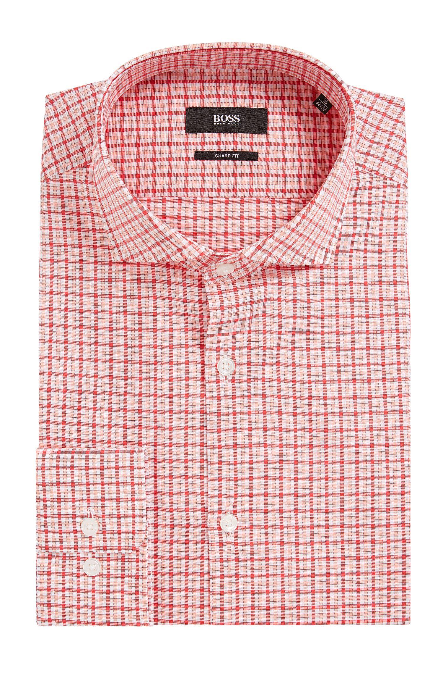 Cotton Dress Shirt, Sharp Fit | Mark US