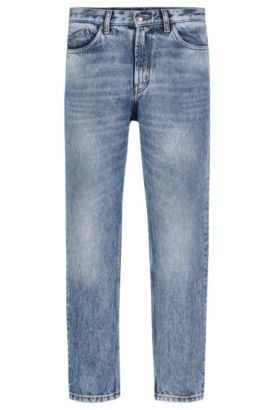 12 oz Cotton Jeans, Slim Fit | Hugo 332, Light Blue