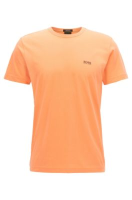 Regular-fit T-shirt in single jersey, Open Red