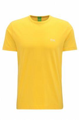 Cotton Graphic T-Shirt   Tee, Yellow
