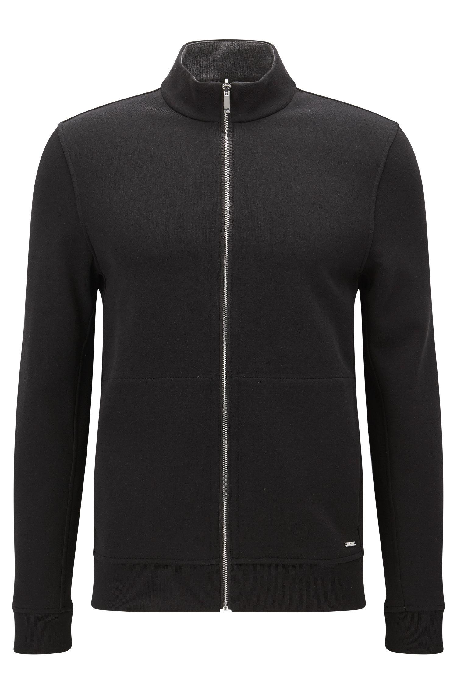 'Scavo'   Cotton Blend Full-Zip Sweater