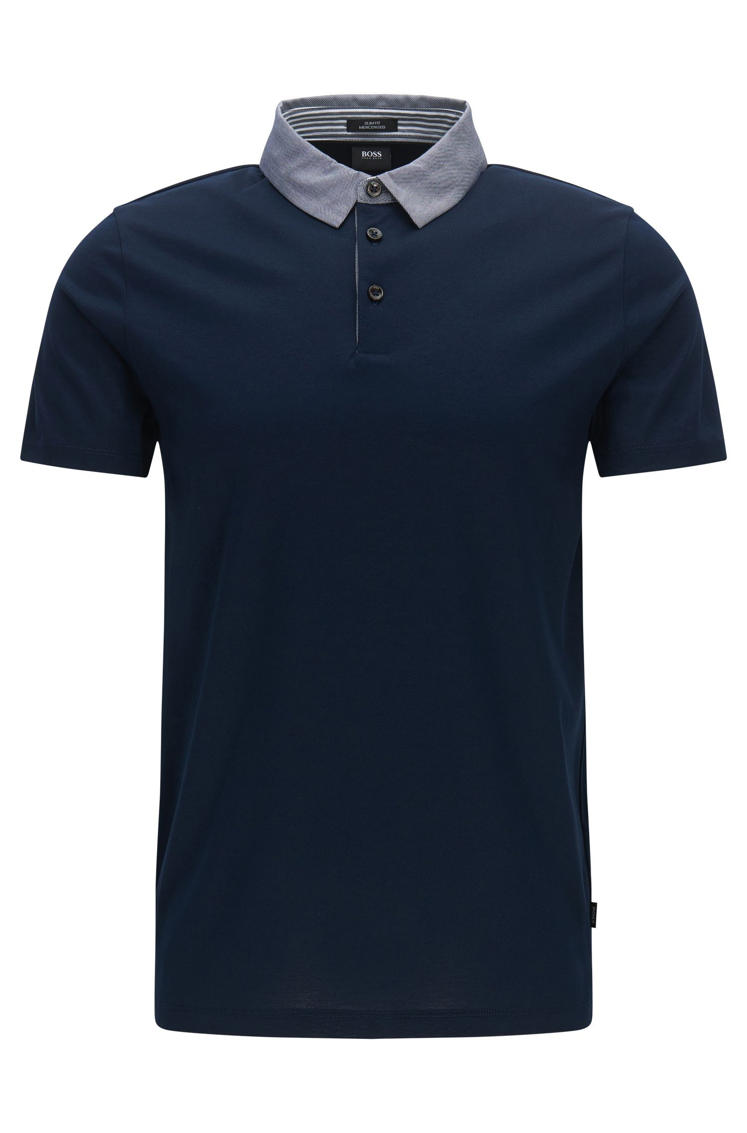 Cotton Polo Shirt, Slim Fit | Place