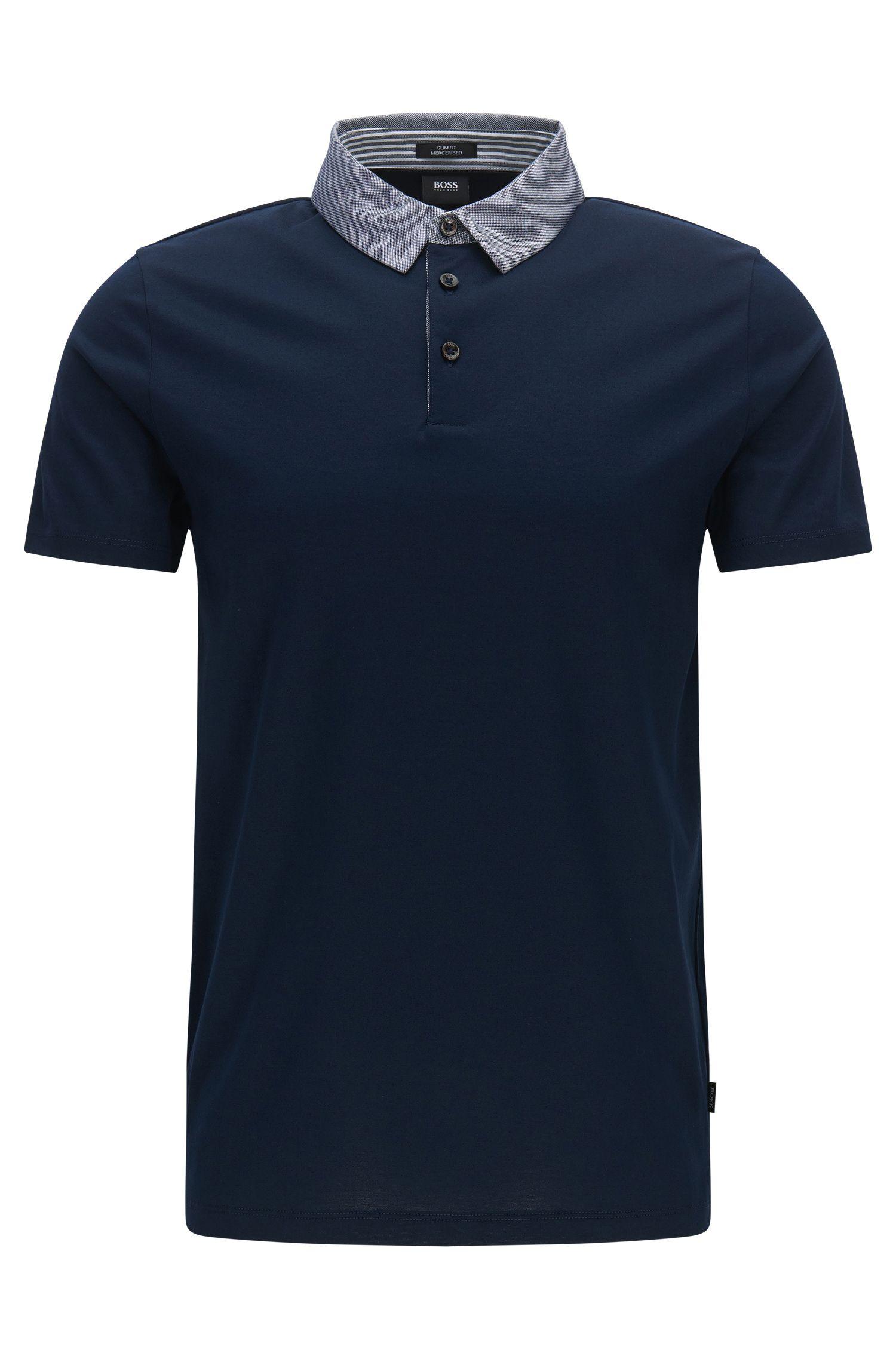 Cotton Polo Shirt, Slim Fit | Place