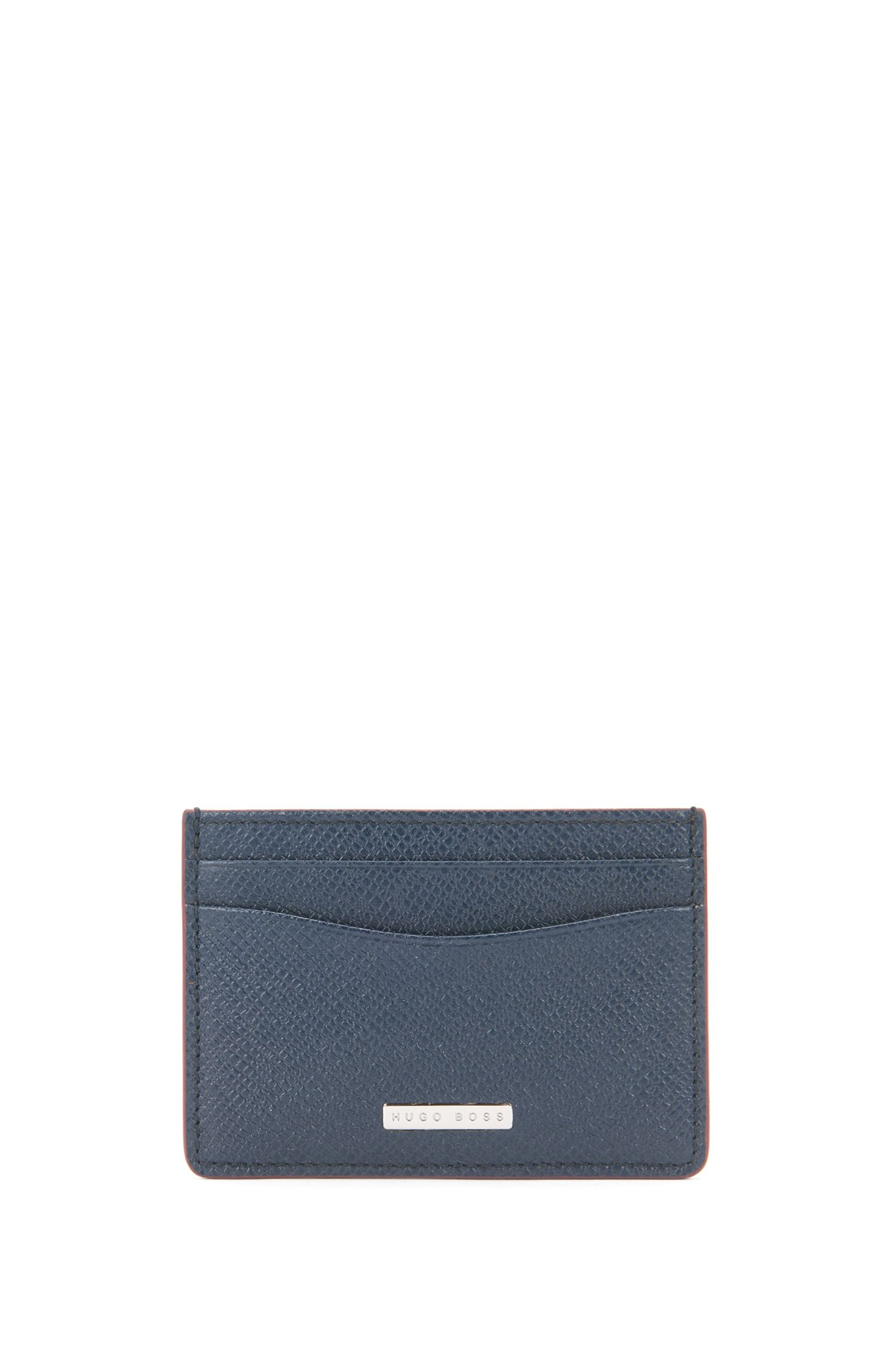 Signature Collection money clip in palmellato leather