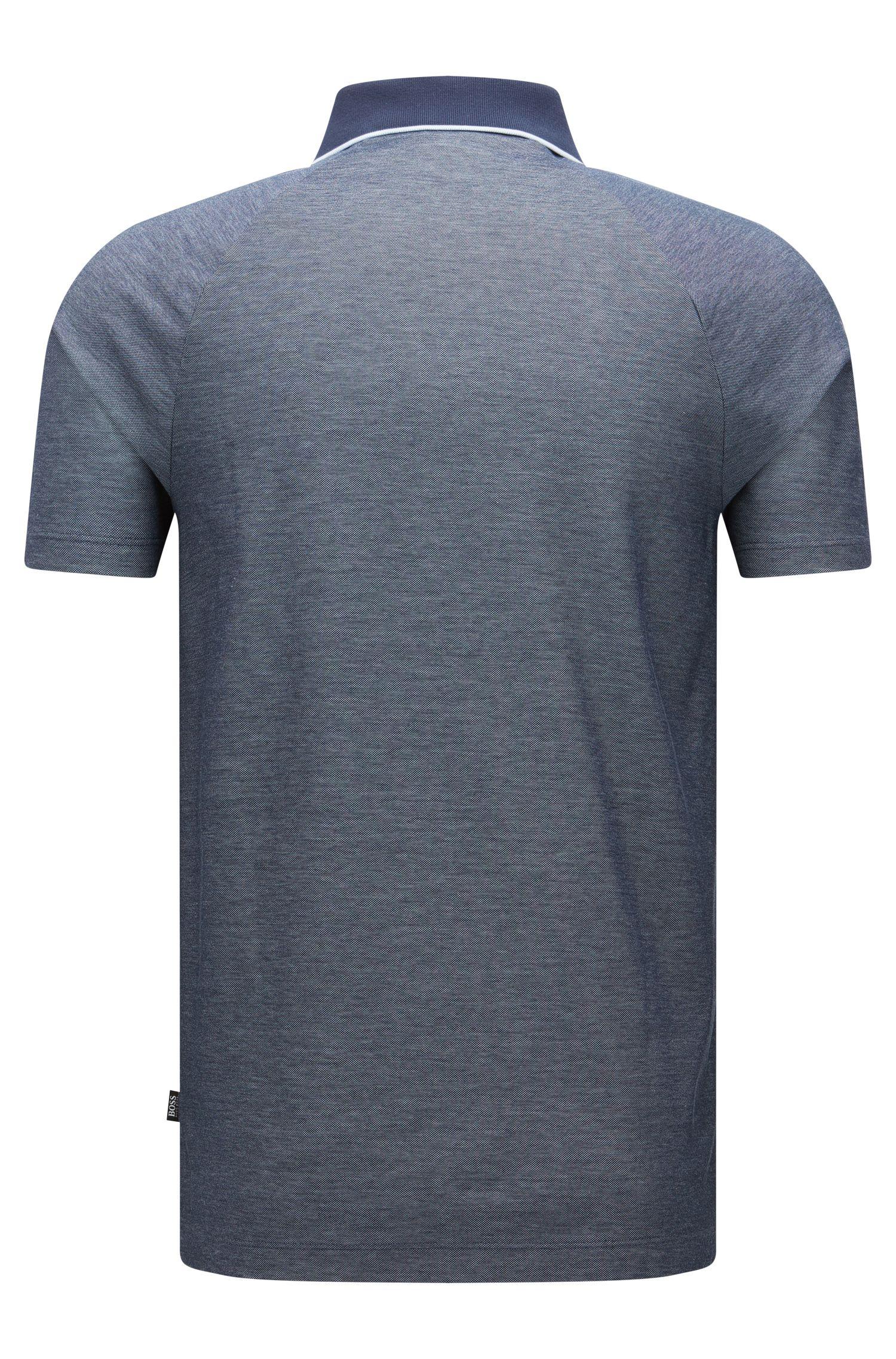 Cotton Polo Shirt, Regular Fit | Piket, Dark Blue