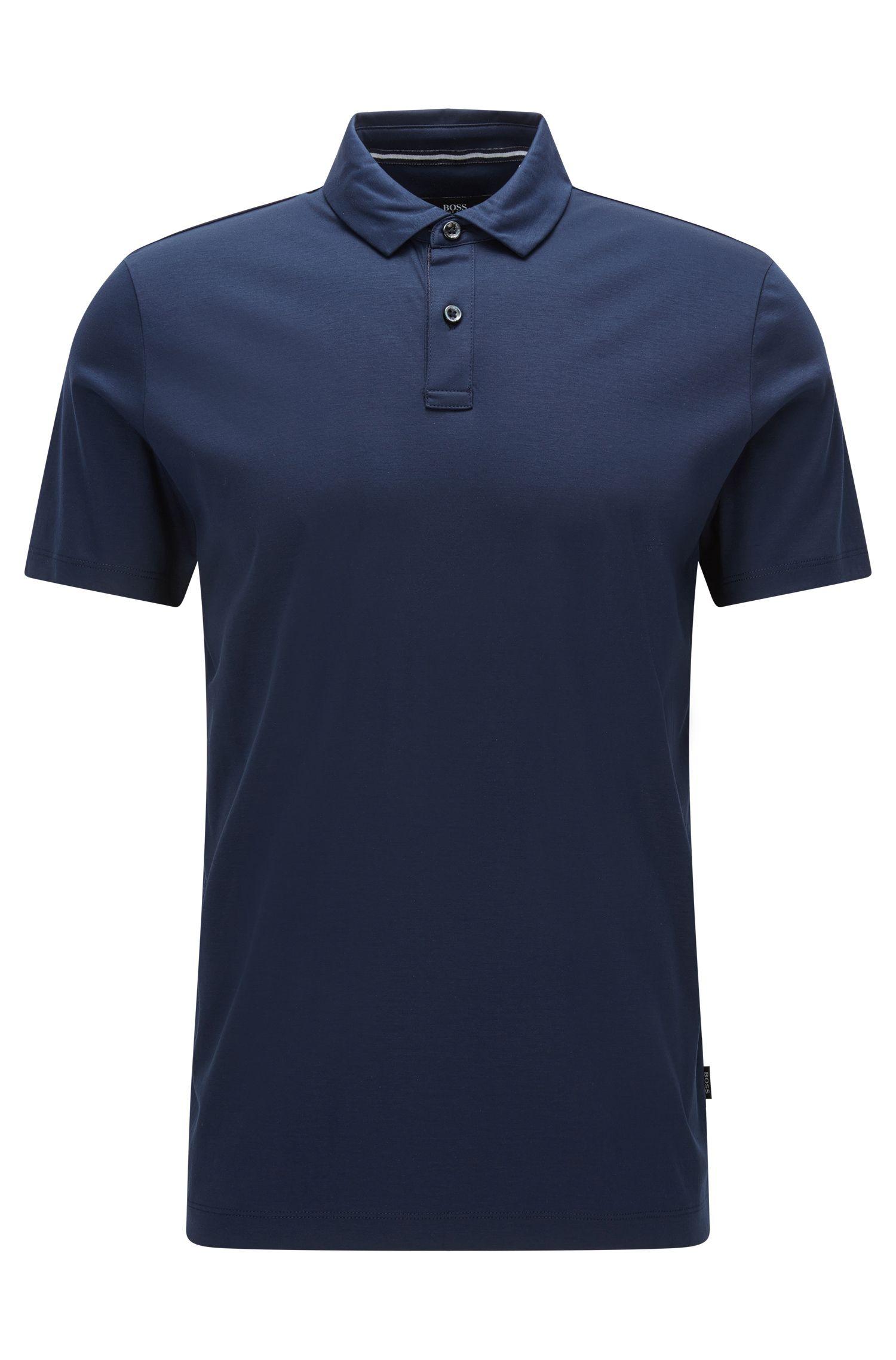 Cotton Polo Shirt, Regular Fit   Press
