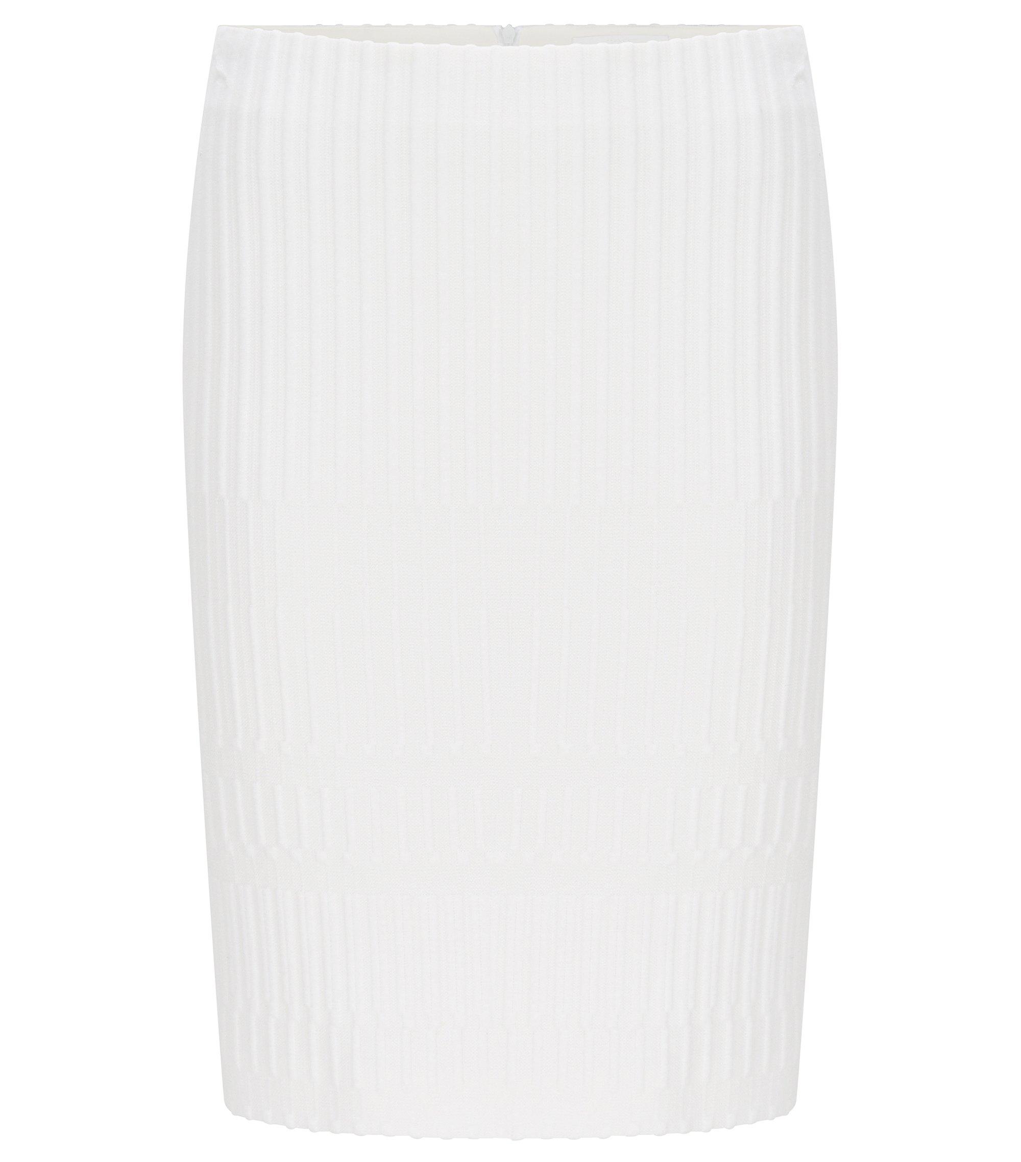 Textured Crepe Pencil Skirt | Madea, Natural