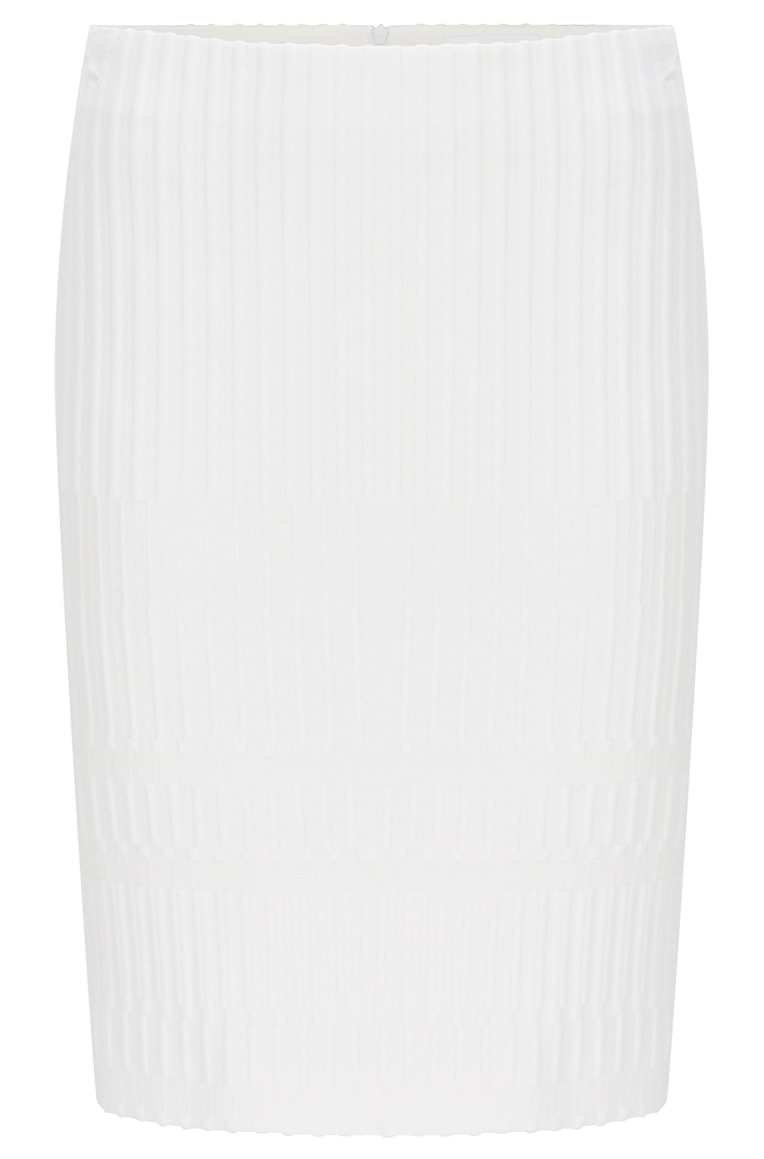 Textured Crepe Pencil Skirt | Madea