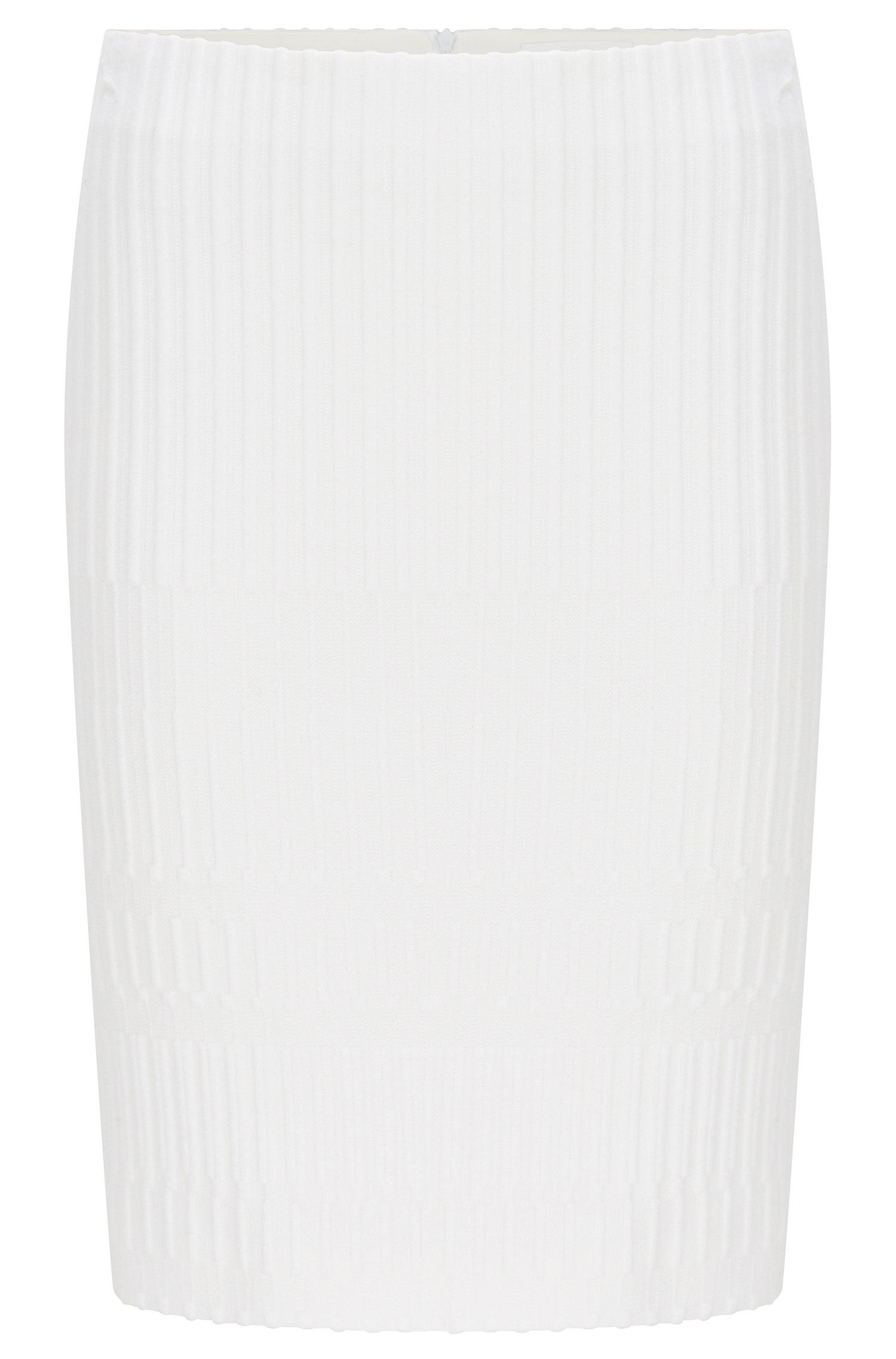'Madea'   Textured Crepe Pencil Skirt