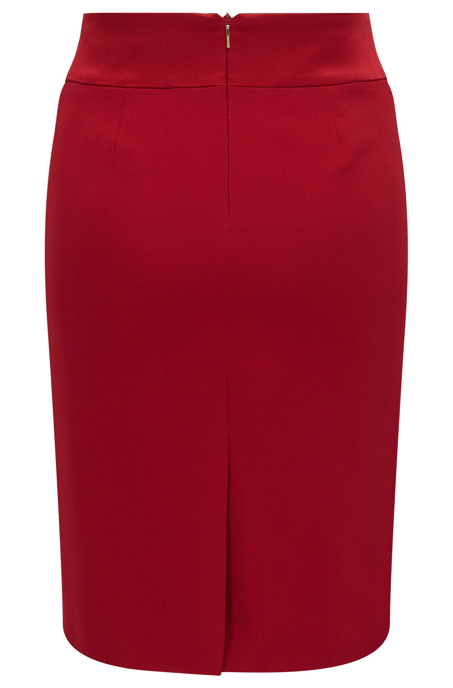 Crepe Pencil Skirt | Visala