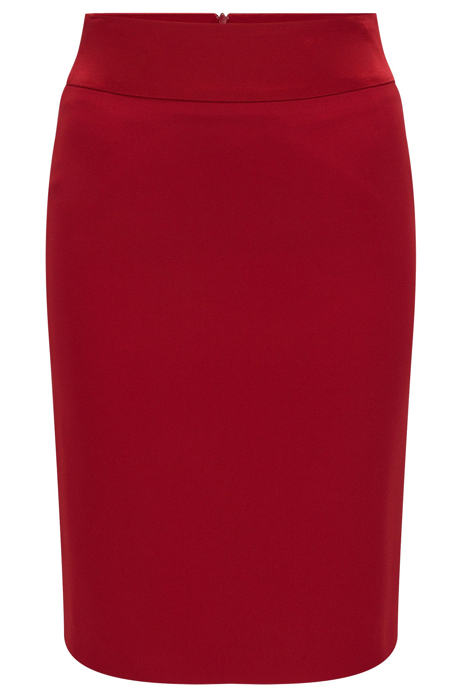 'Visala' | Crepe Pencil Skirt
