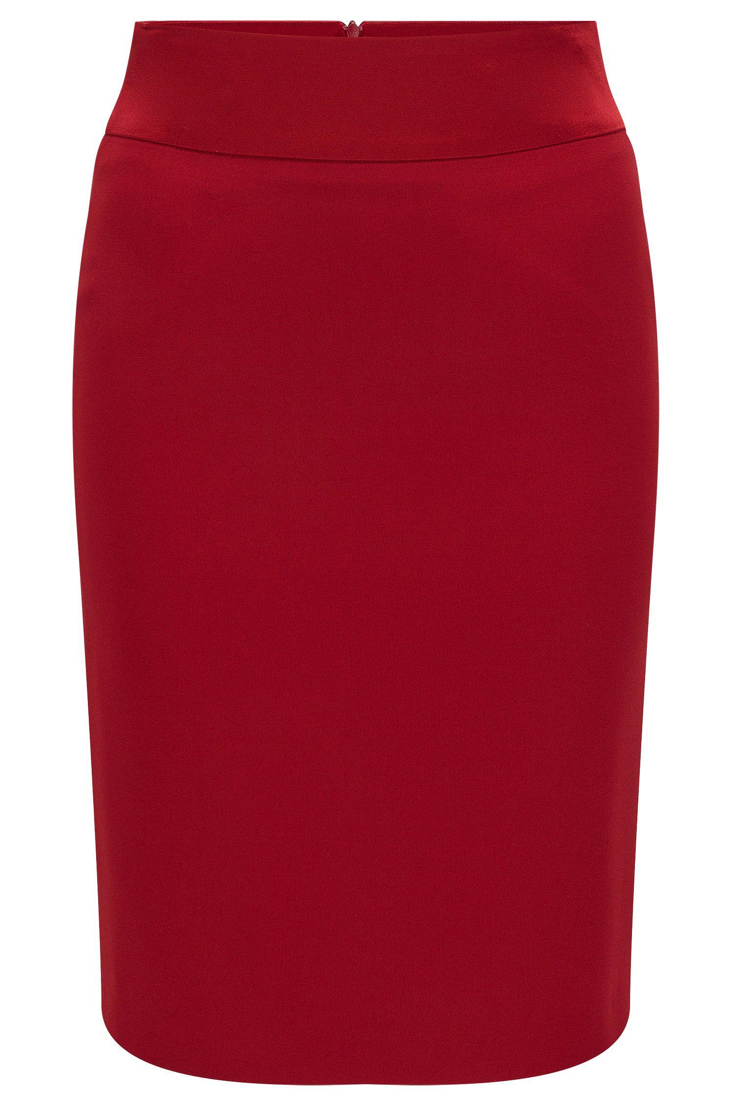 'Visala'   Crepe Pencil Skirt