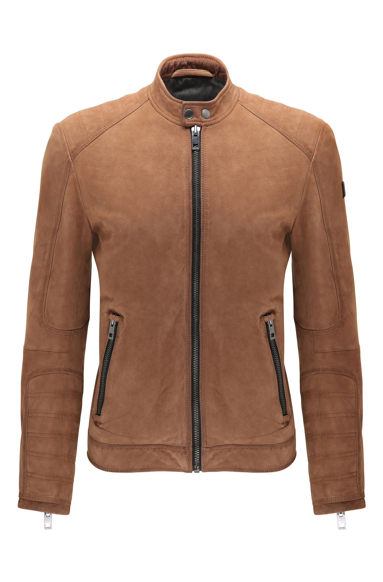 Suede Jacket, Slim Fit | Jondrix