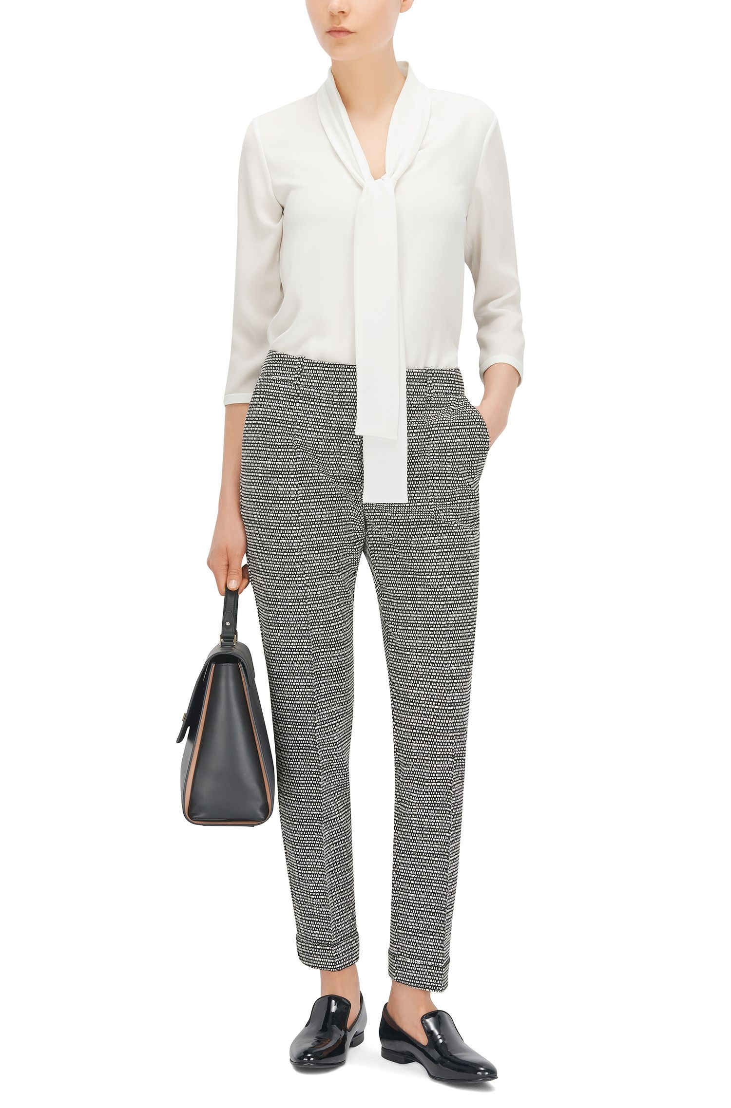 Tie Front Top | Lasena, Natural