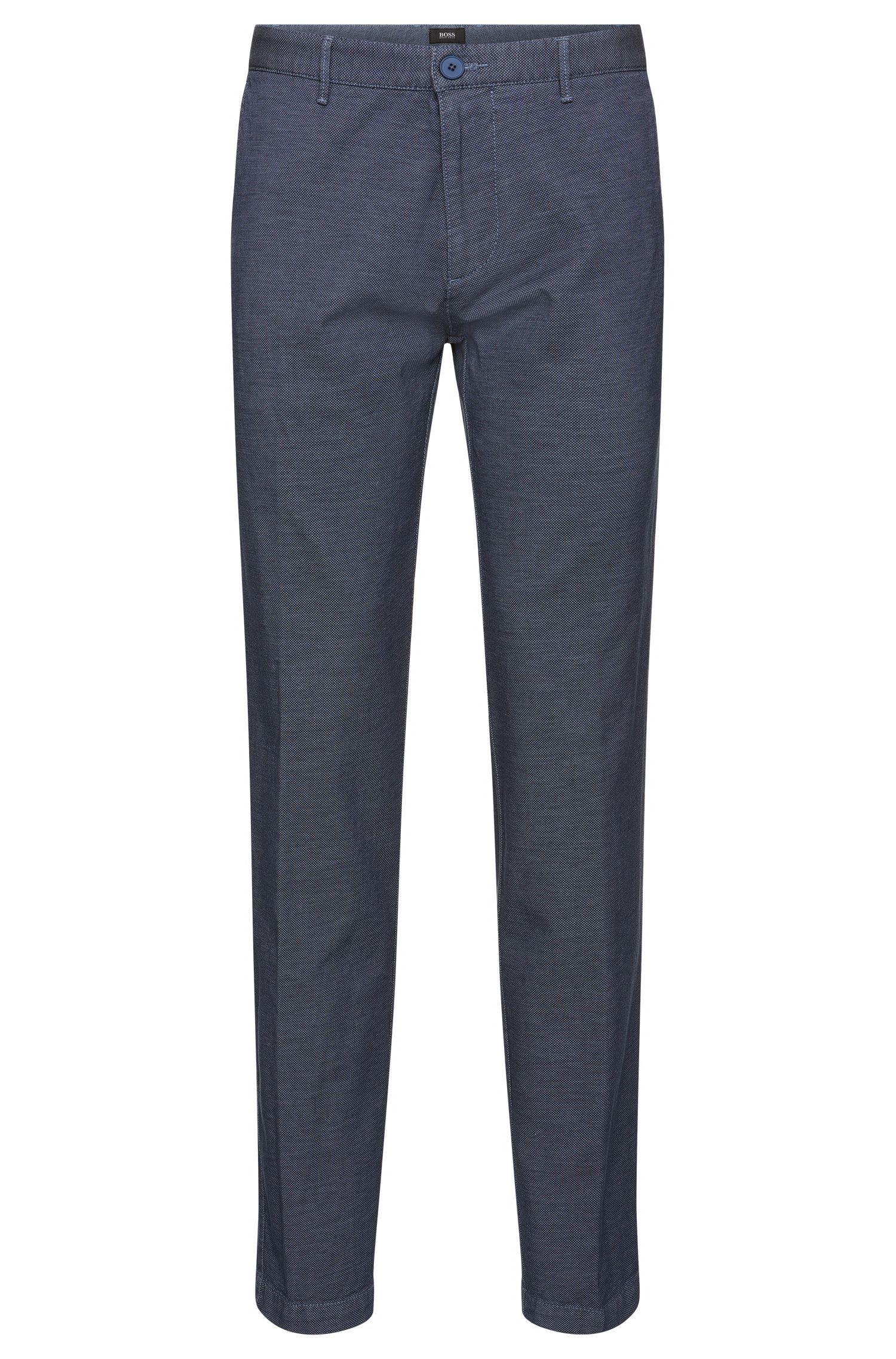 Stretch Cotton Pant, Regular Fit | Crigan W