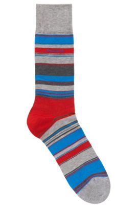Stretch Cotton Blend Sock | RS Design US, Silver