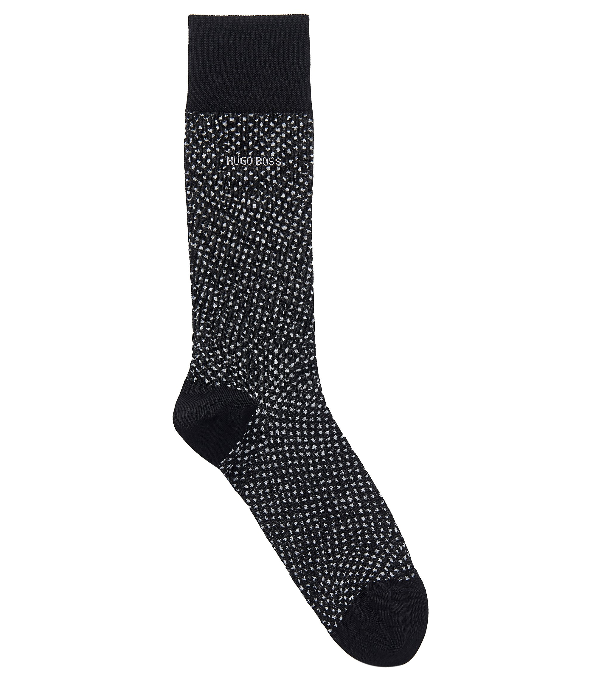 Stretch Cotton Blend Sock | RS Design US, Black