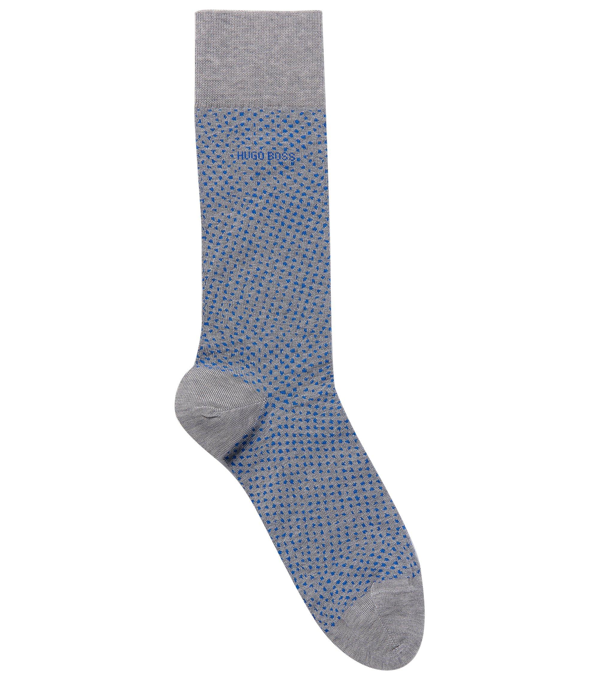Stretch Cotton Blend Sock   RS Design US, Silver