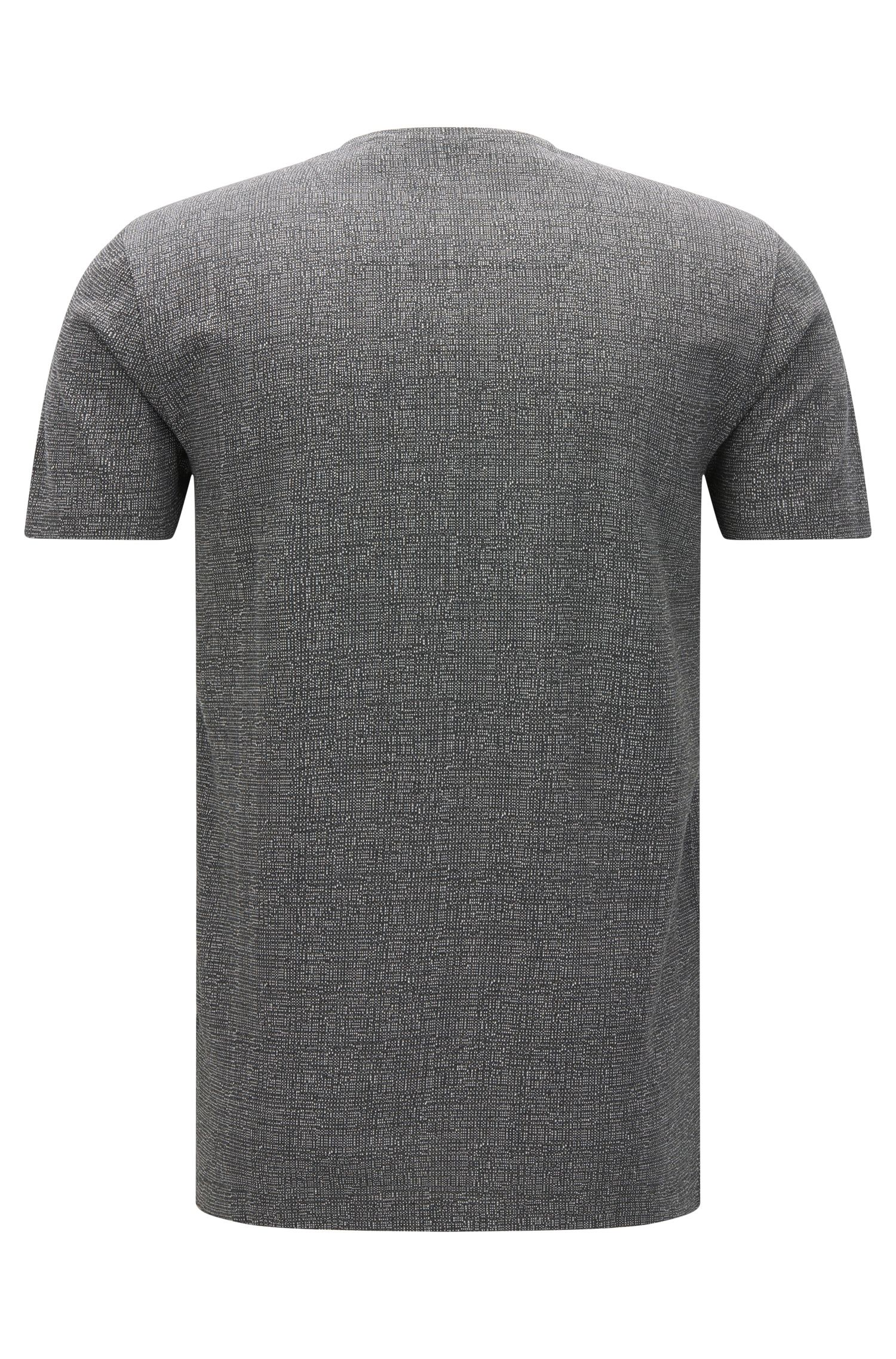 Mercerized Cotton T-Shirt | Tiburt