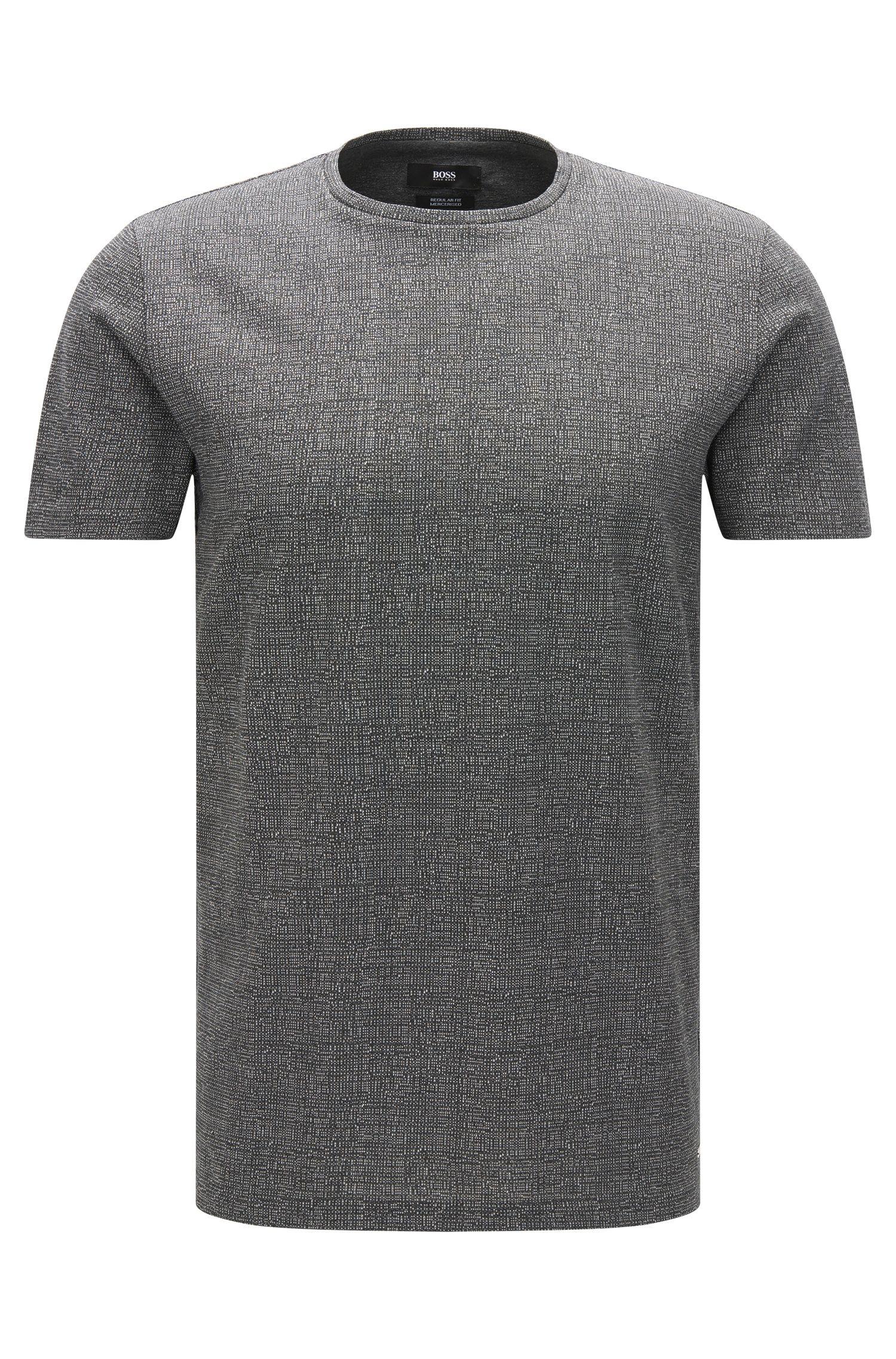 Mercerized Cotton T-Shirt | Tiburt