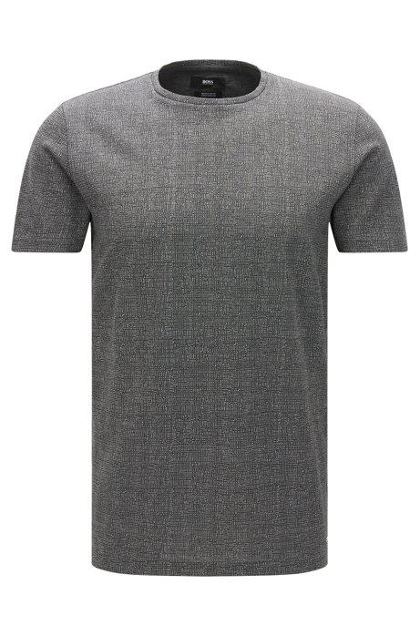 86101114b BOSS - Mercerized Cotton T-Shirt | Tiburt