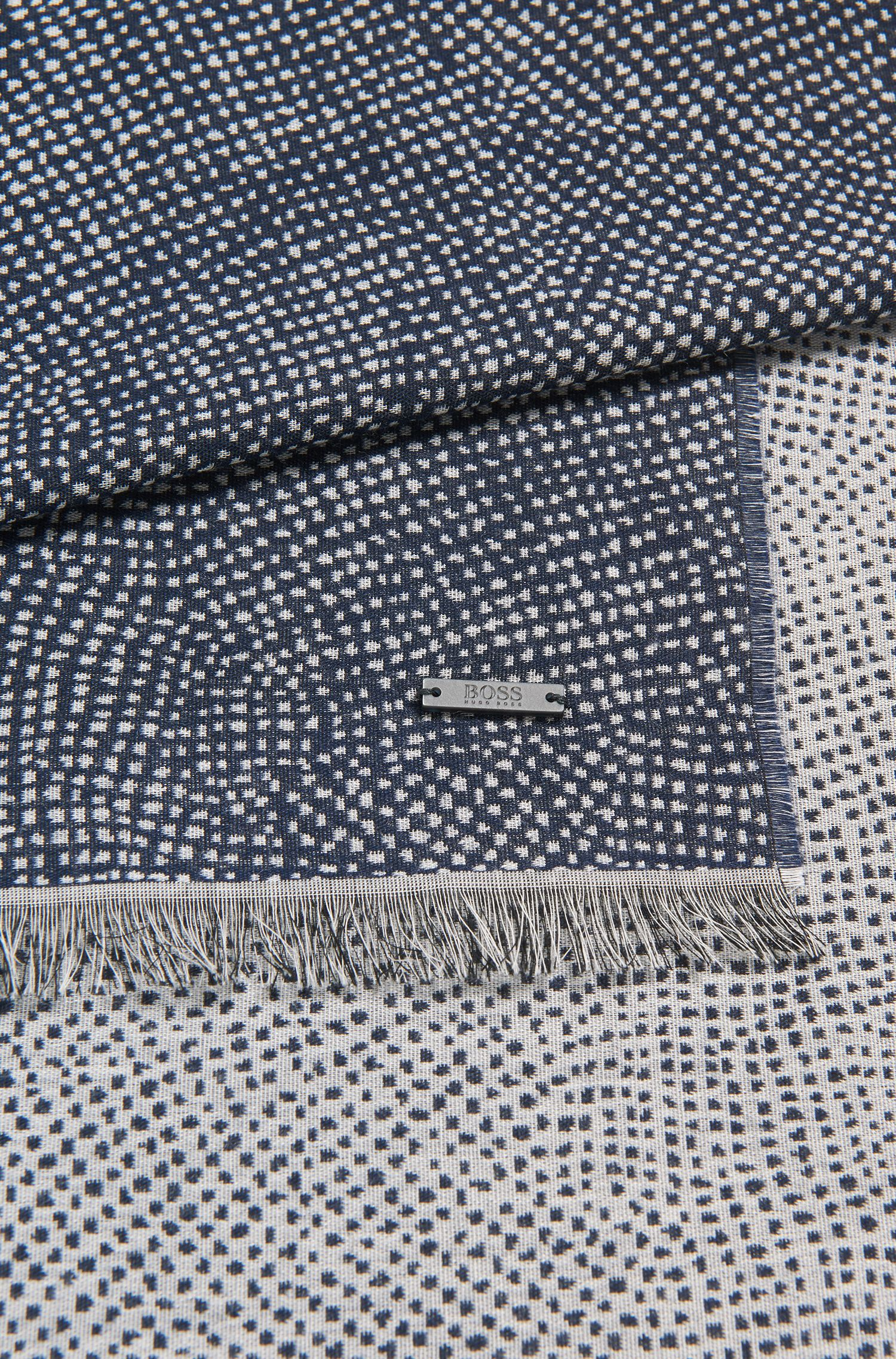 Dotted Viscose Blend Scarf | Caionic