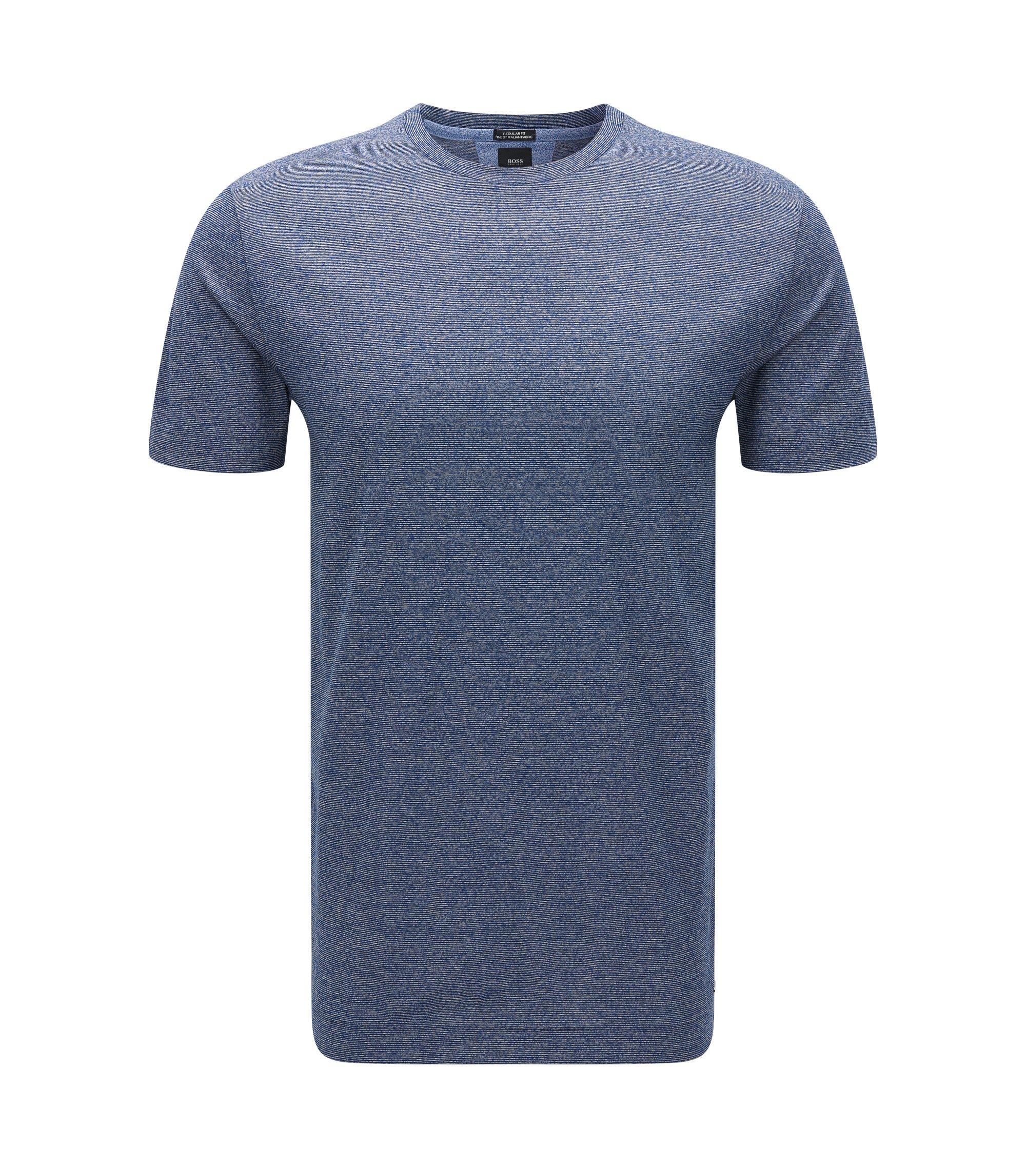 Italian Cotton T-Shirt | T-Tesar, Dark Blue