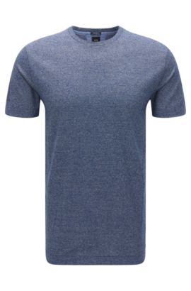 Italian Cotton T-Shirt | T-Tesar, Dark Blue
