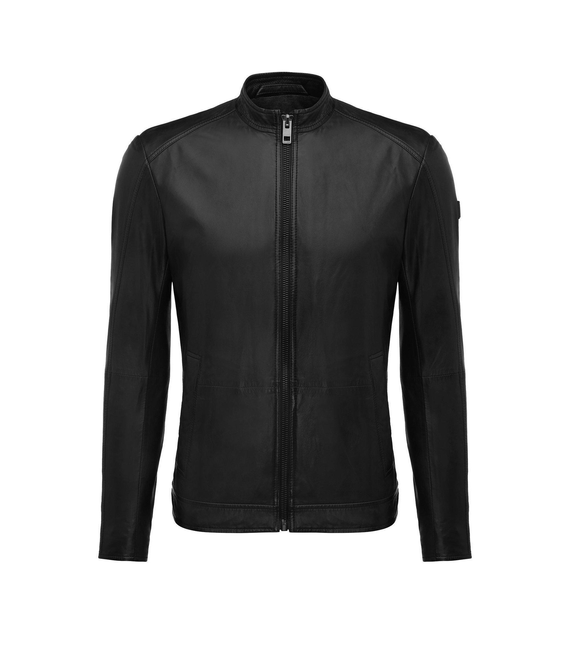 Nappa Leather Jacket | Joker, Black